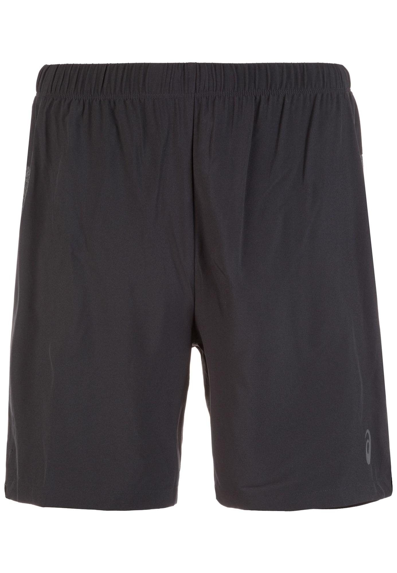 Sportovní kalhoty šedá černá ASICS