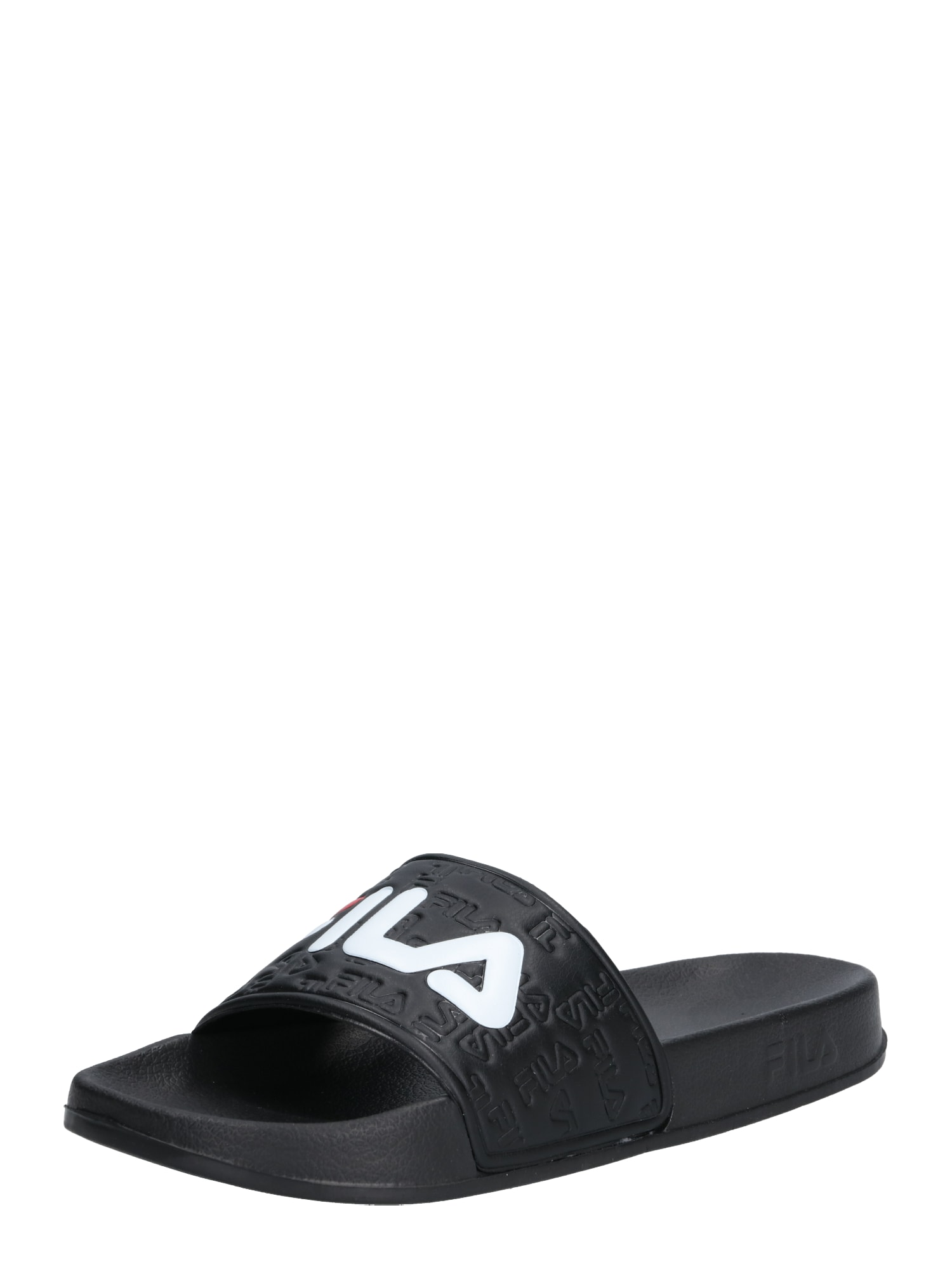 Pantofle Boardwalk Slipper červená černá bílá FILA