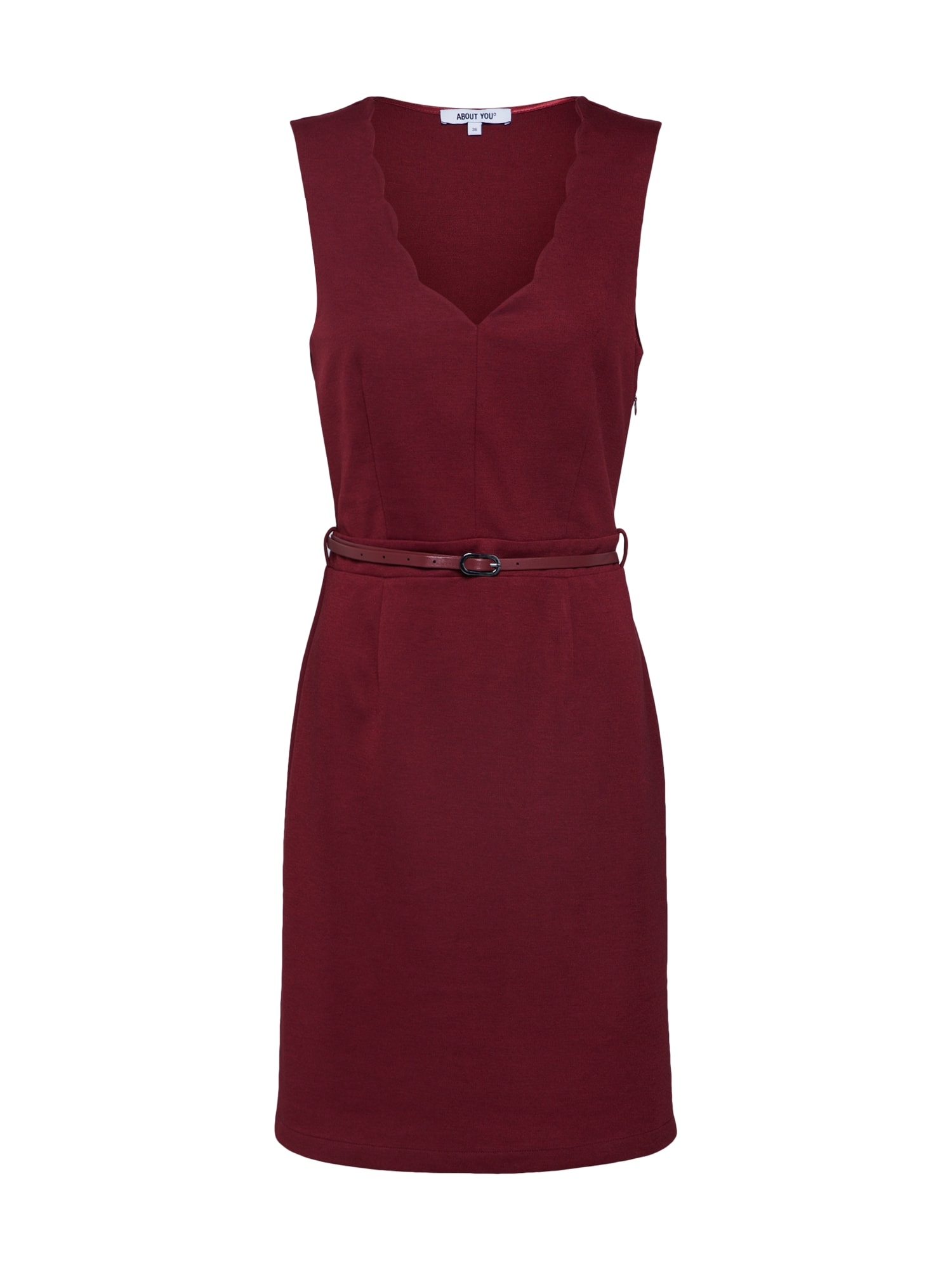 ABOUT YOU Jurk 'Michelle' bordeaux