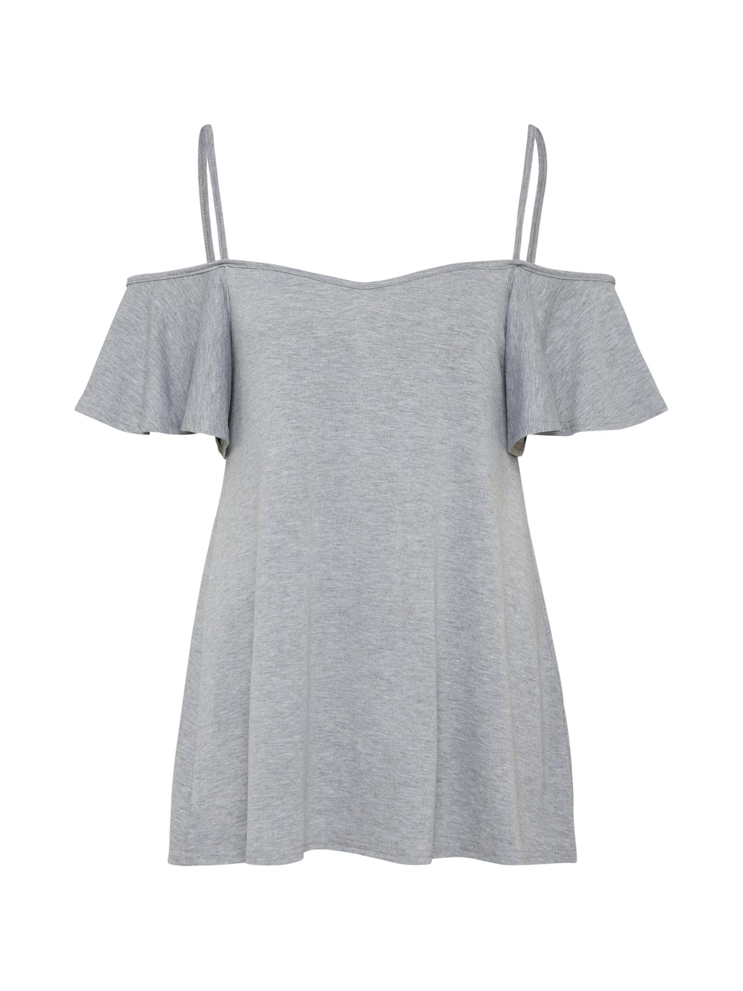 Tričko šedá Boohoo