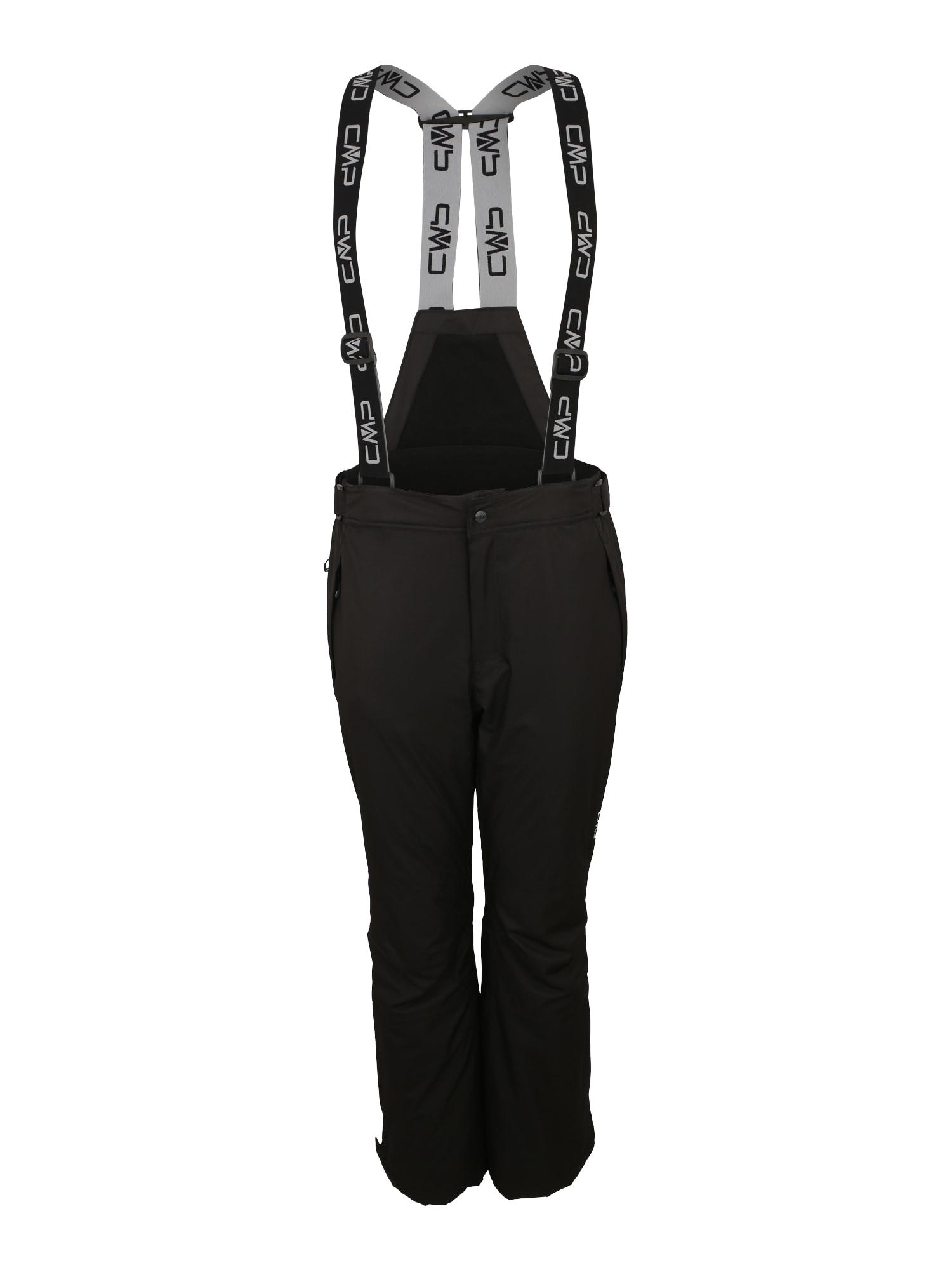 Outdoorové kalhoty MAN SKI SALOPETTE černá CMP