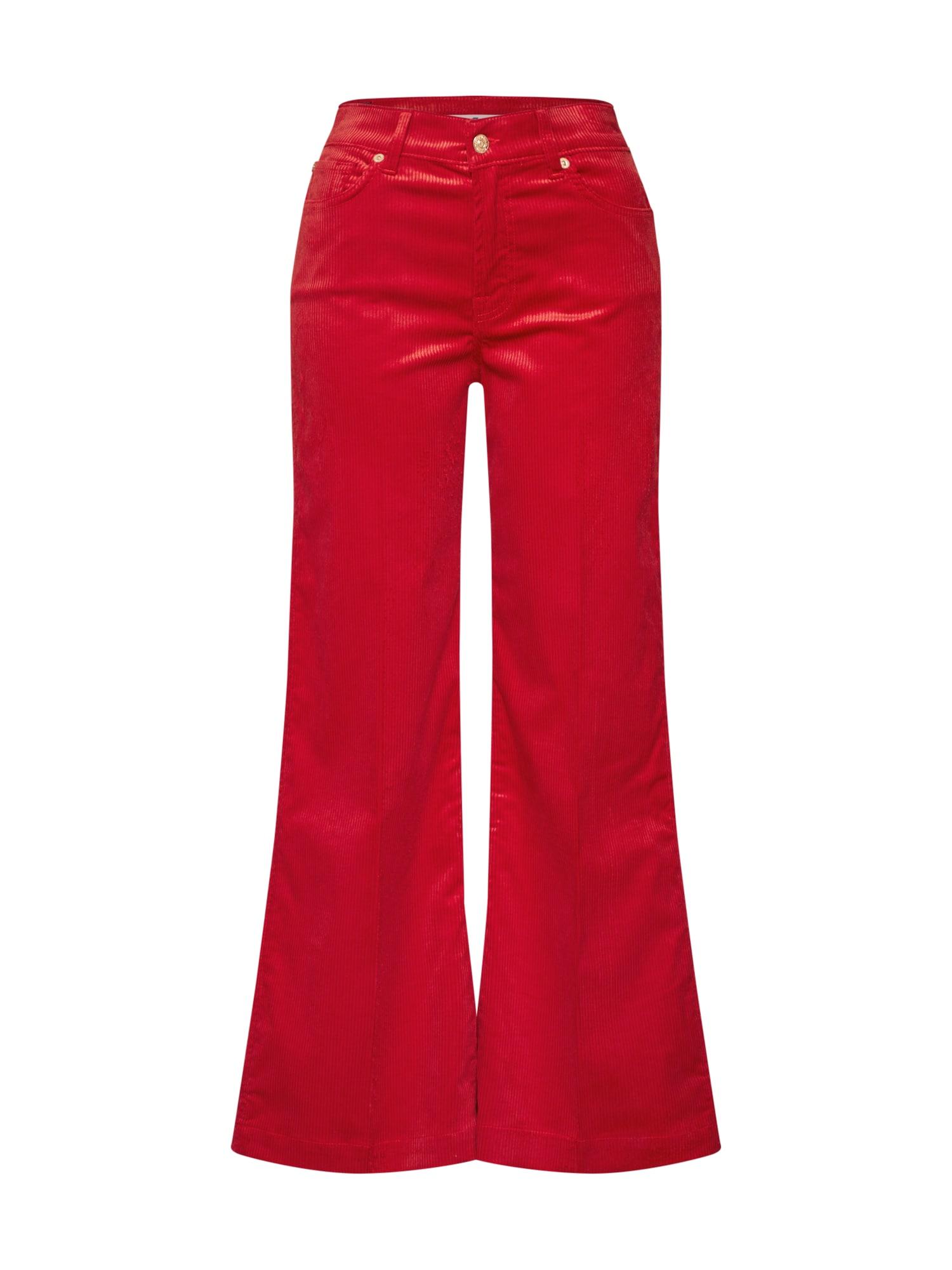 Kalhoty LOTTA červená 7 For All Mankind