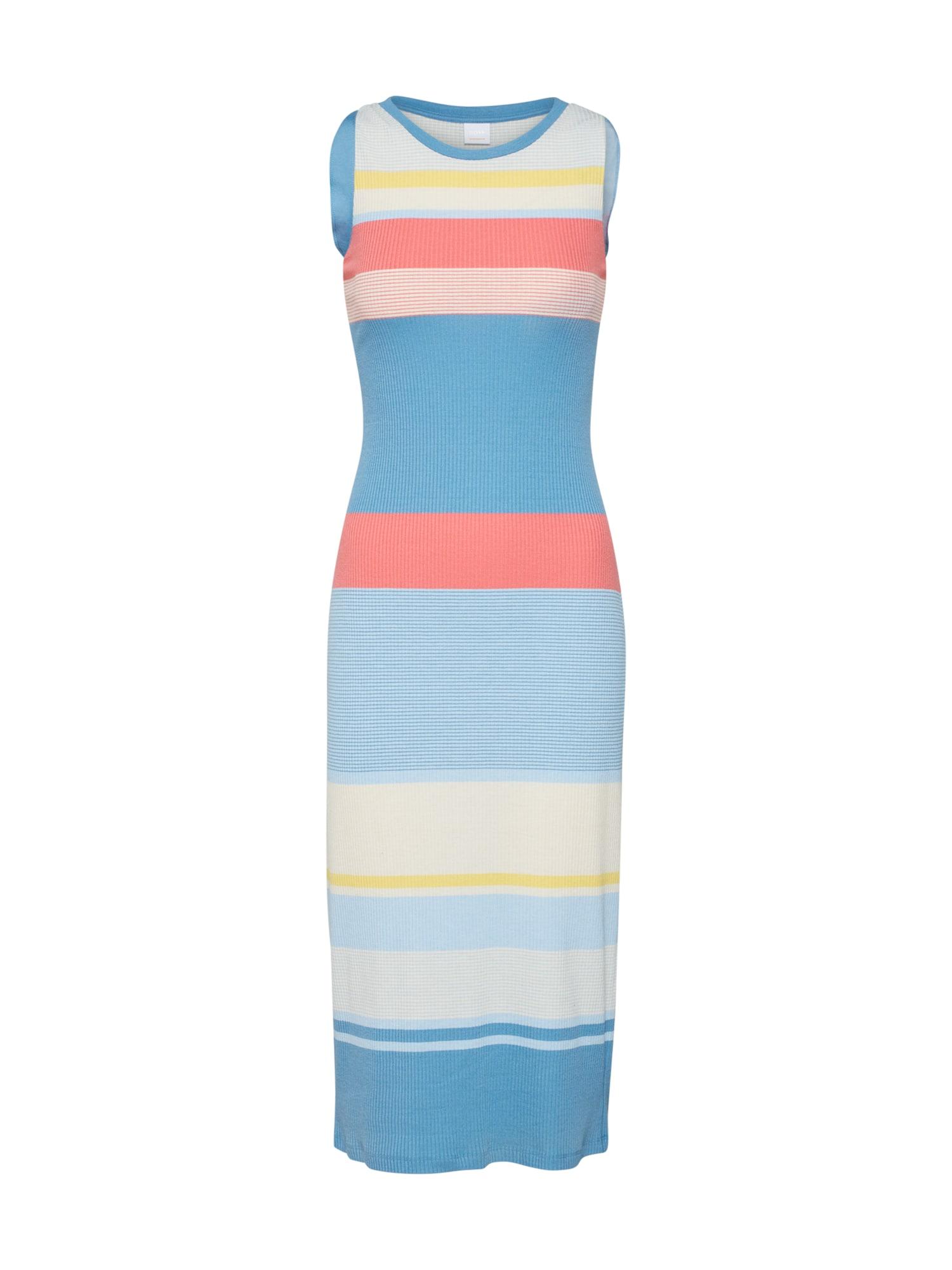 Letní šaty Davictoria modrá BOSS