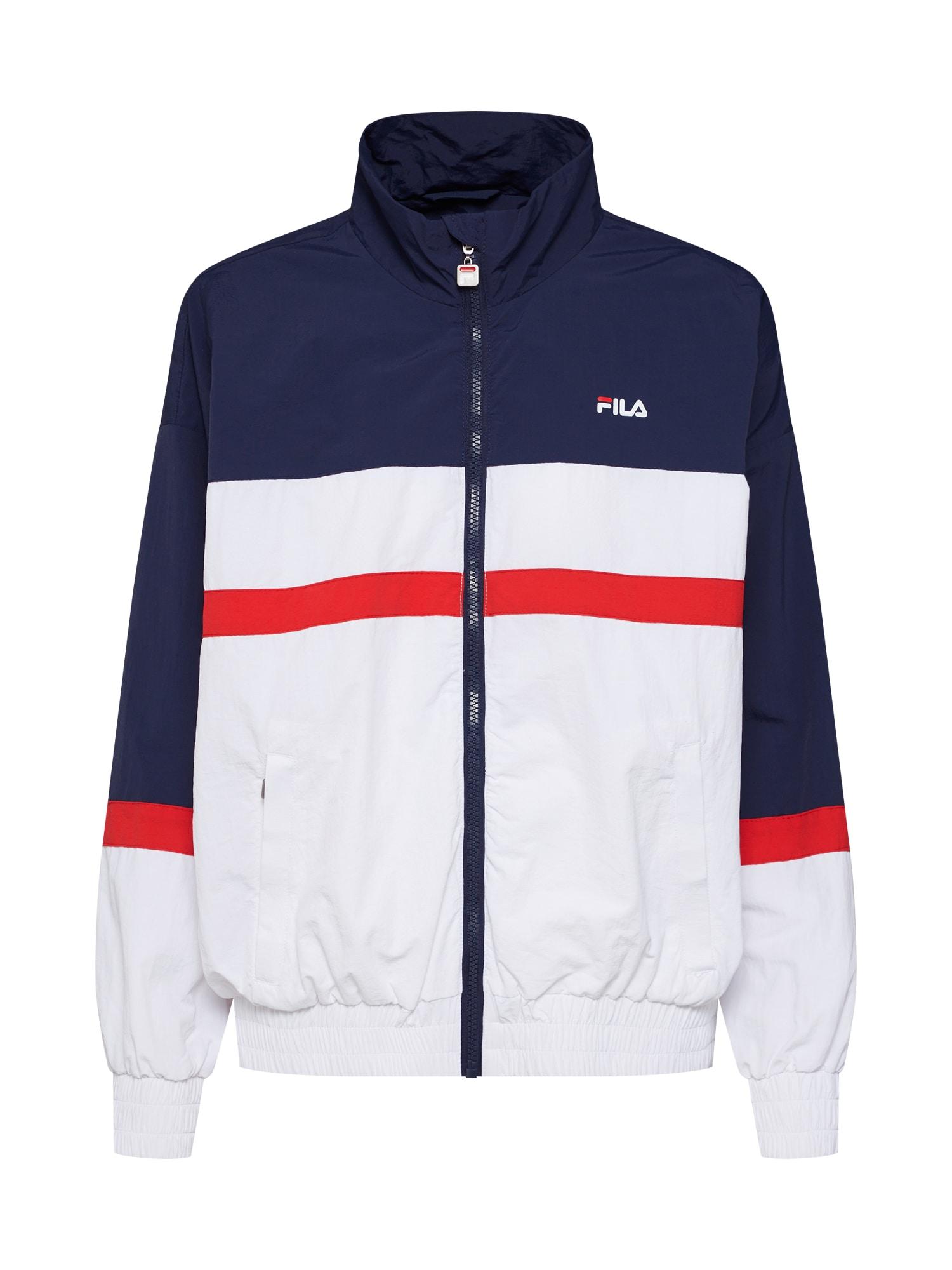 Přechodná bunda KAYA Wind Jacket námořnická modř červená bílá FILA