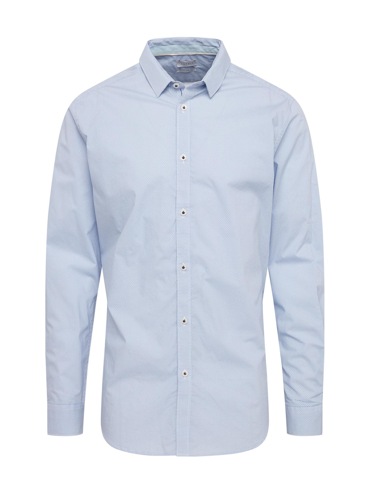Společenská košile světlemodrá Esprit Collection