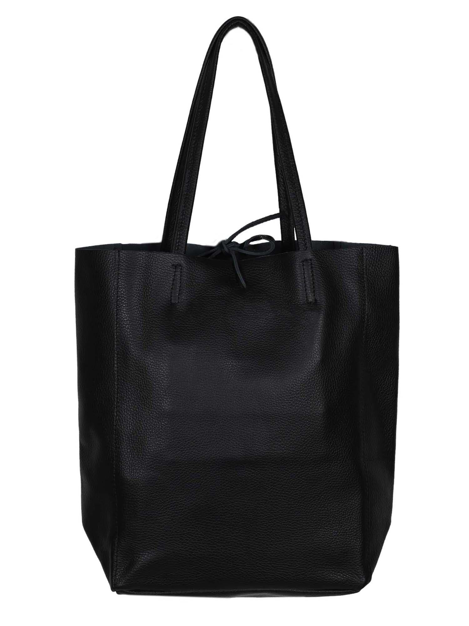 Zwillingsherz Shopper  čierna