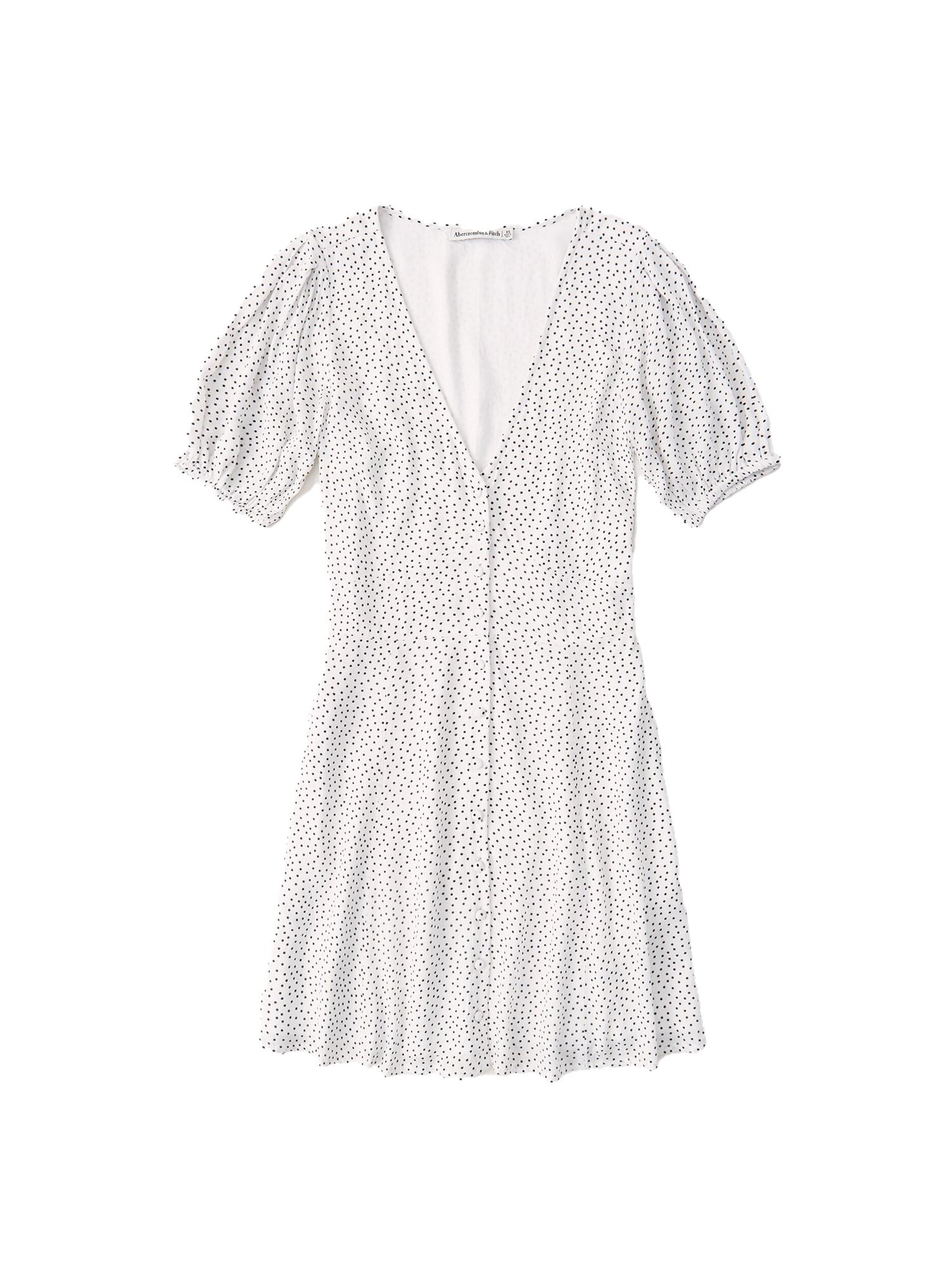 Abercrombie & Fitch Šaty  bílá