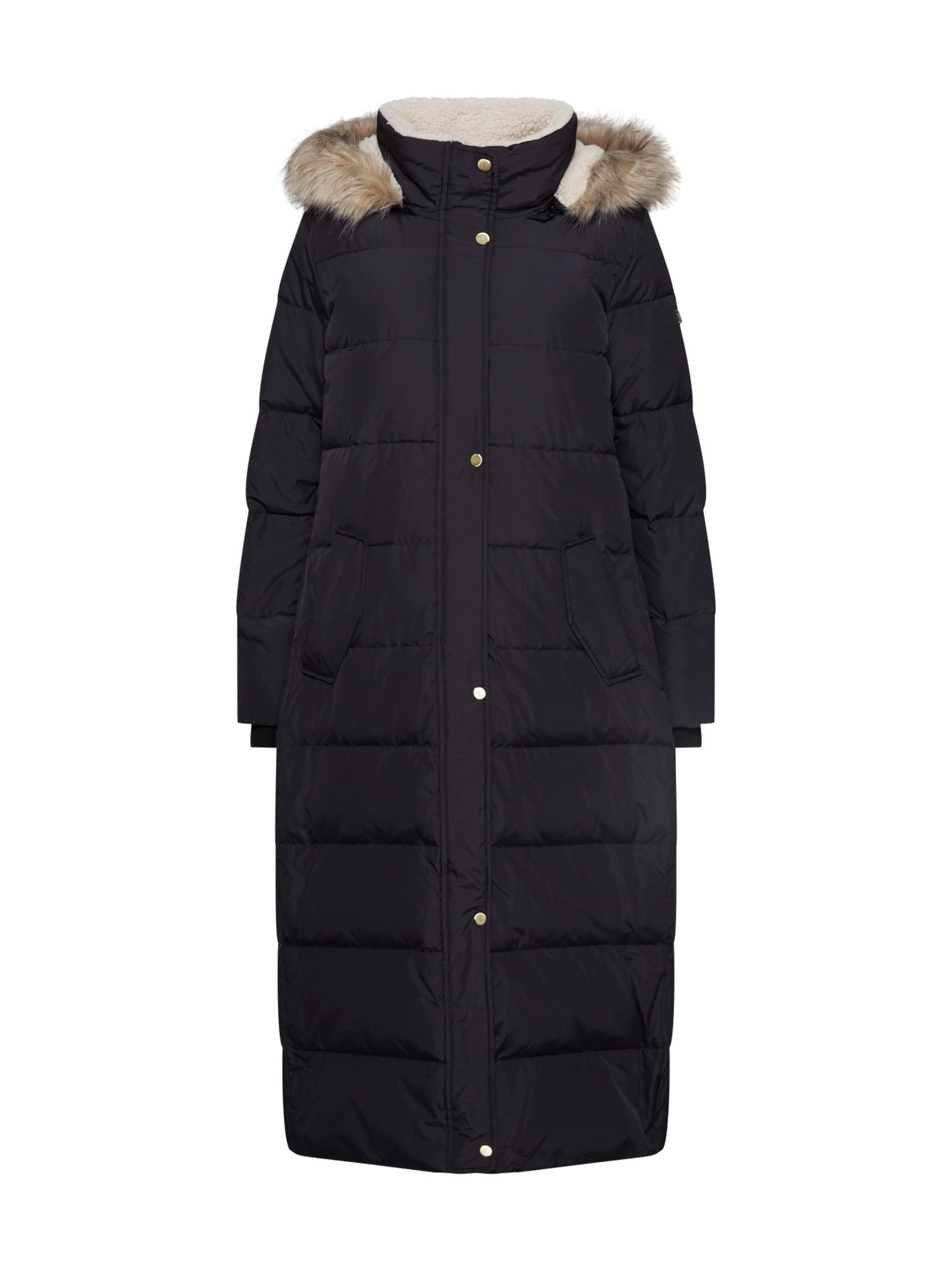 Lauren Ralph Lauren Télikabátok 'HQLT MXI BBR-COAT'  fekete