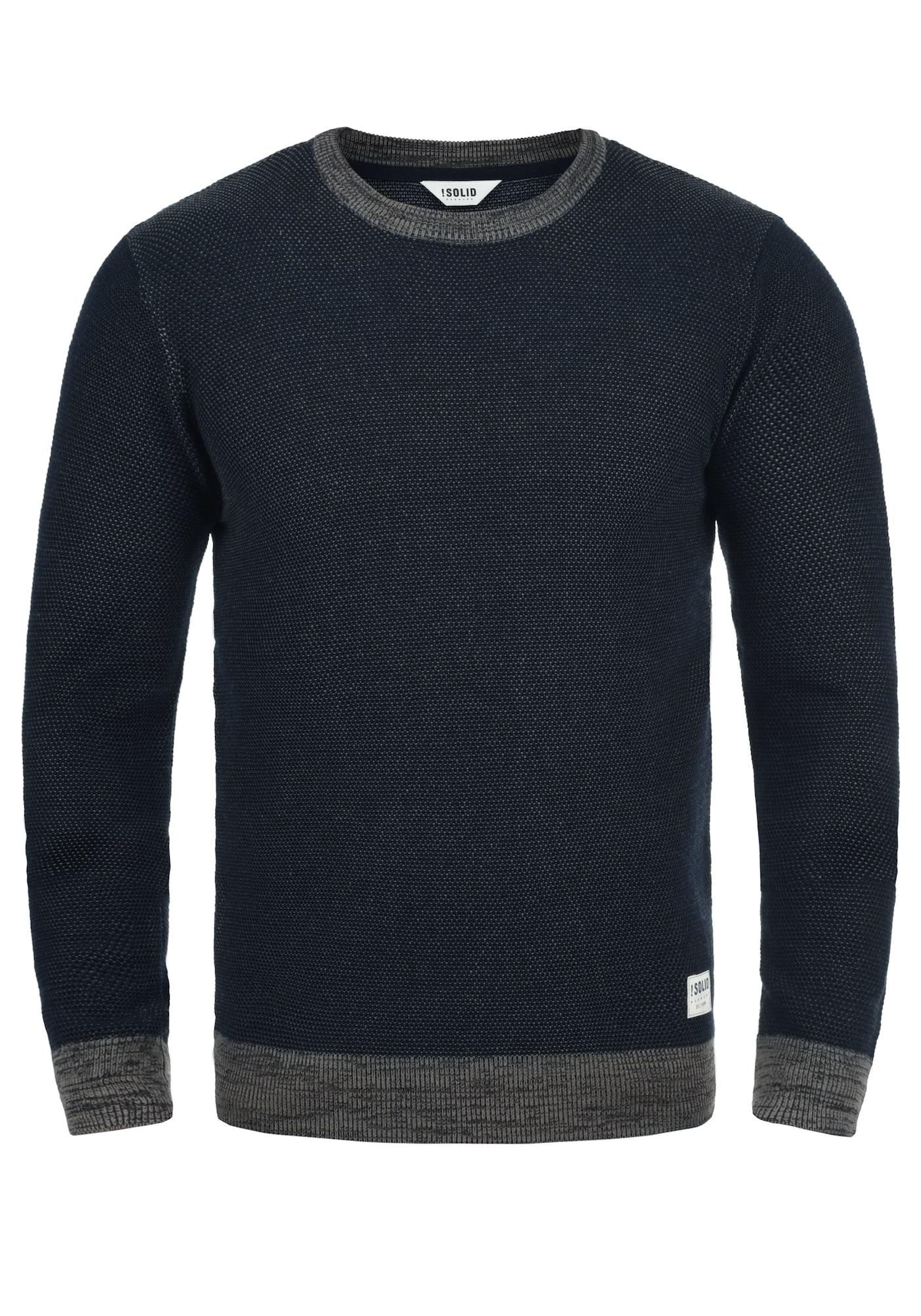 Rundhalspullover 'Raekwans' | Bekleidung > Pullover > Rundhalspullover | Blau | !solid