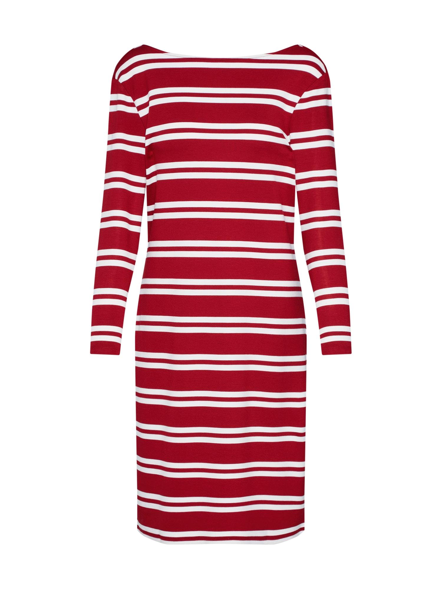 Letní šaty červená bílá GANT