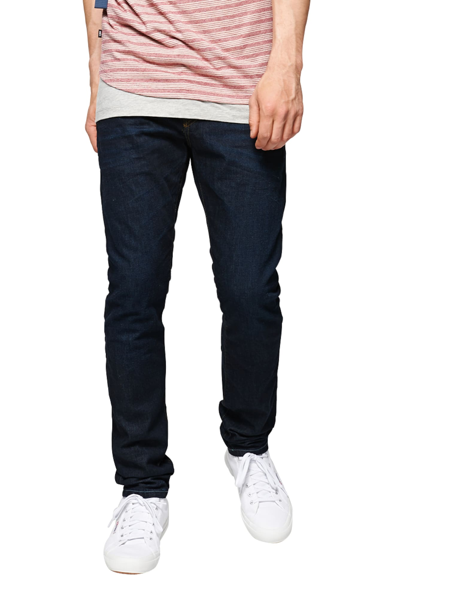SCOTCH  and  SODA Heren Jeans Ralston Touchdown blauw