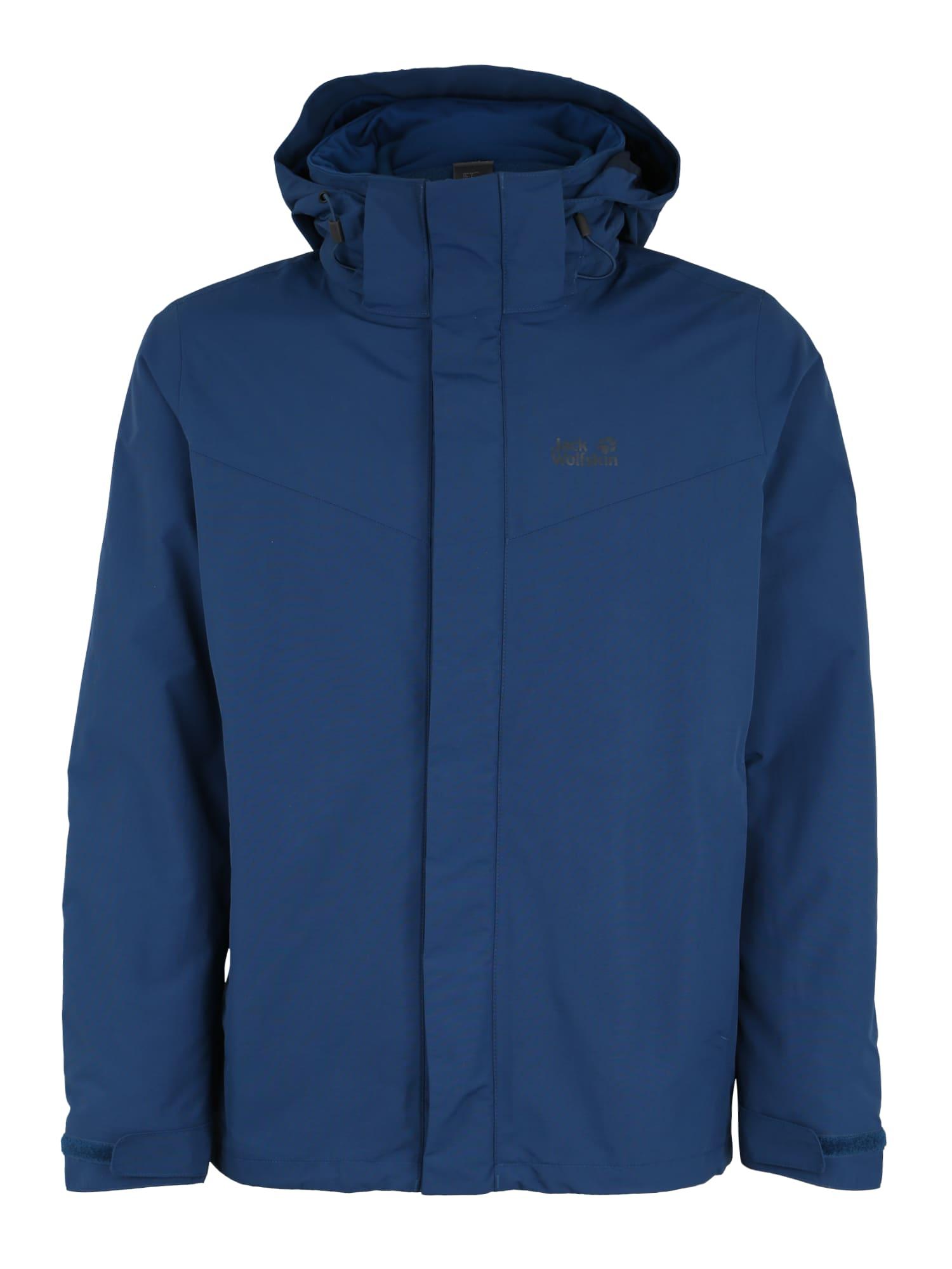 Outdoorová bunda GOTLAND modrá JACK WOLFSKIN