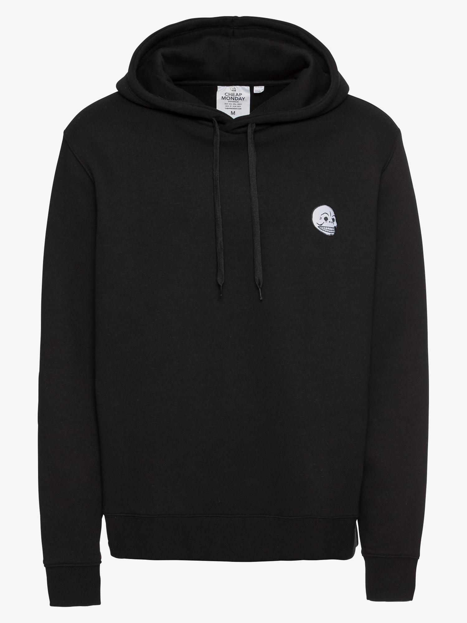 Sweatshirt 'Pullover hood Skull badge'