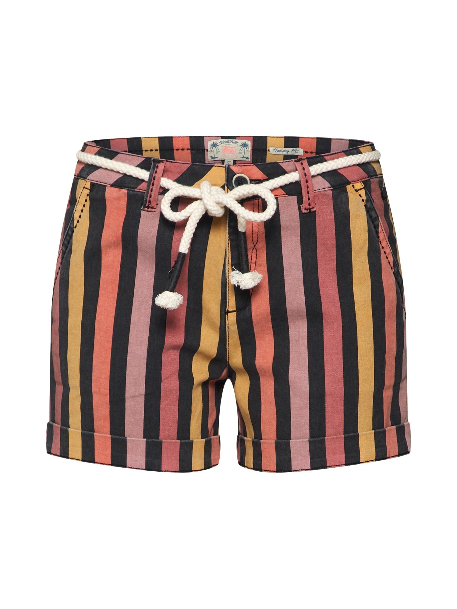 Kalhoty MARIANNE mix barev Khujo