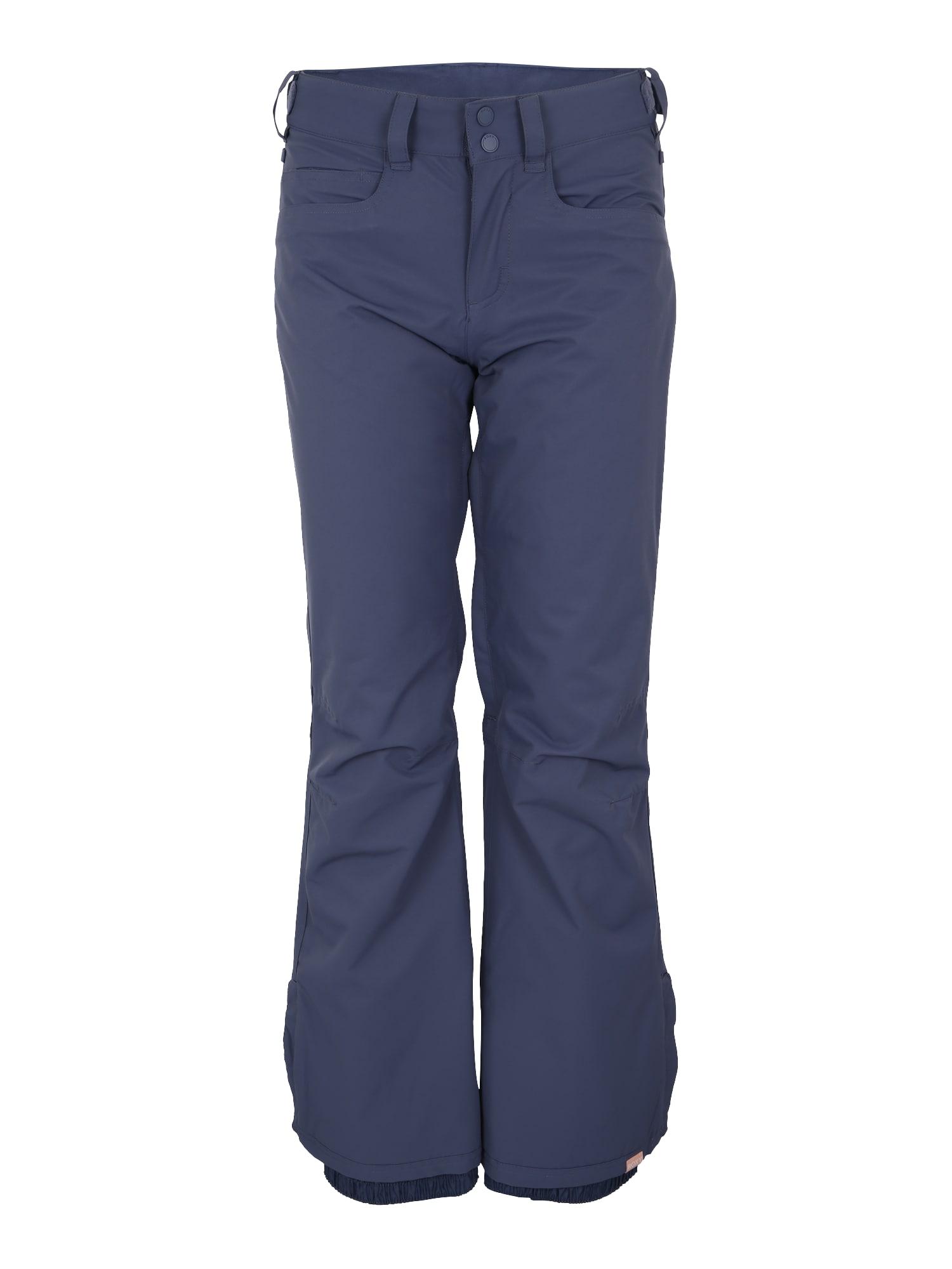 Outdoorové kalhoty BACKYARD modrá tmavě modrá ROXY