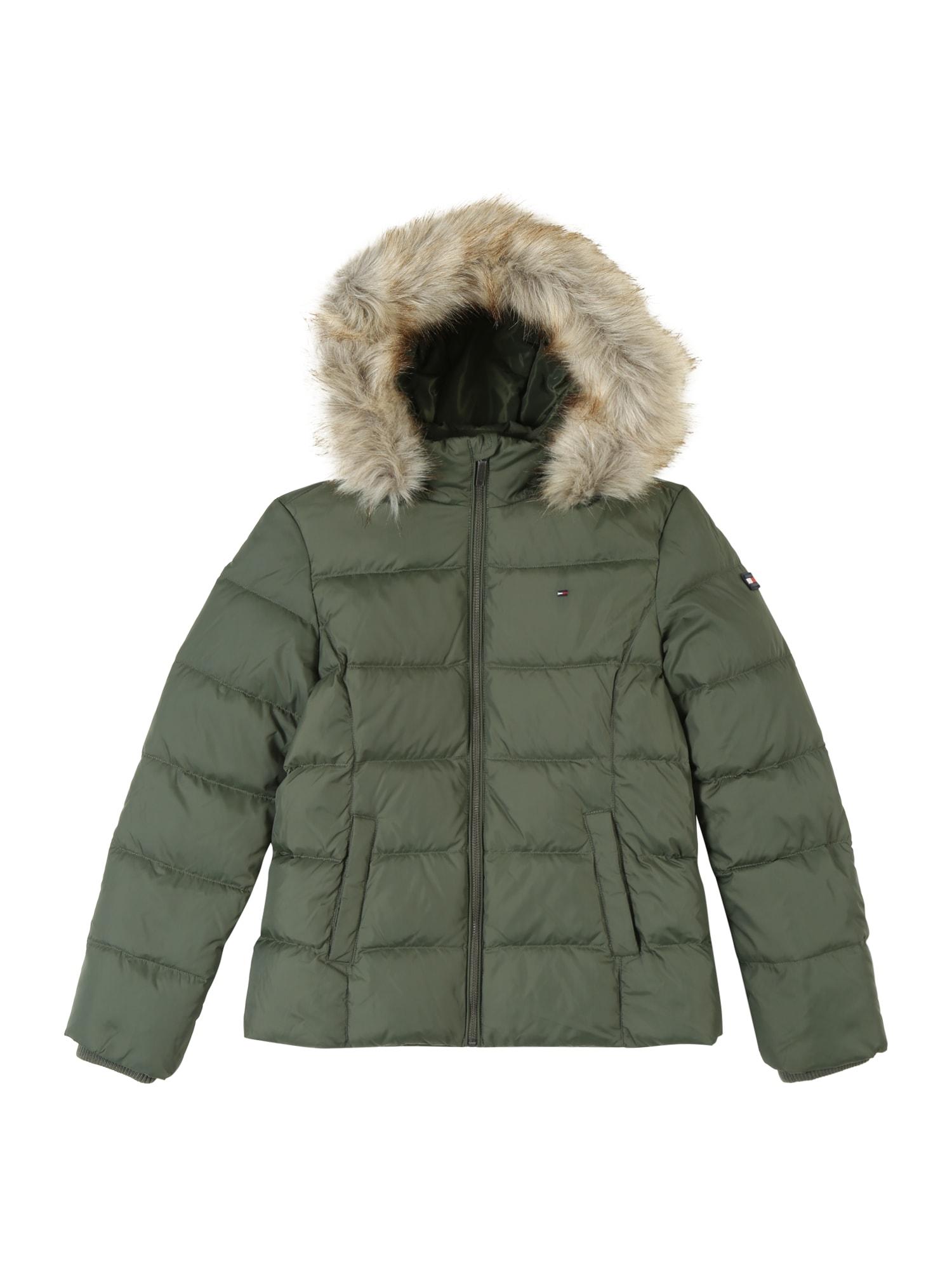 Přechodná bunda ESSENTIAL BASIC khaki TOMMY HILFIGER
