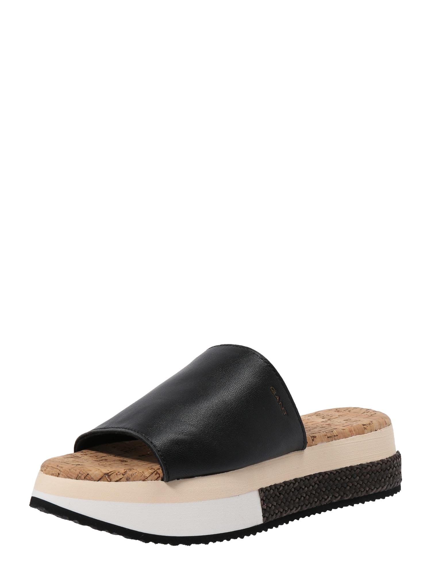 Sandály Sant Ana černá GANT