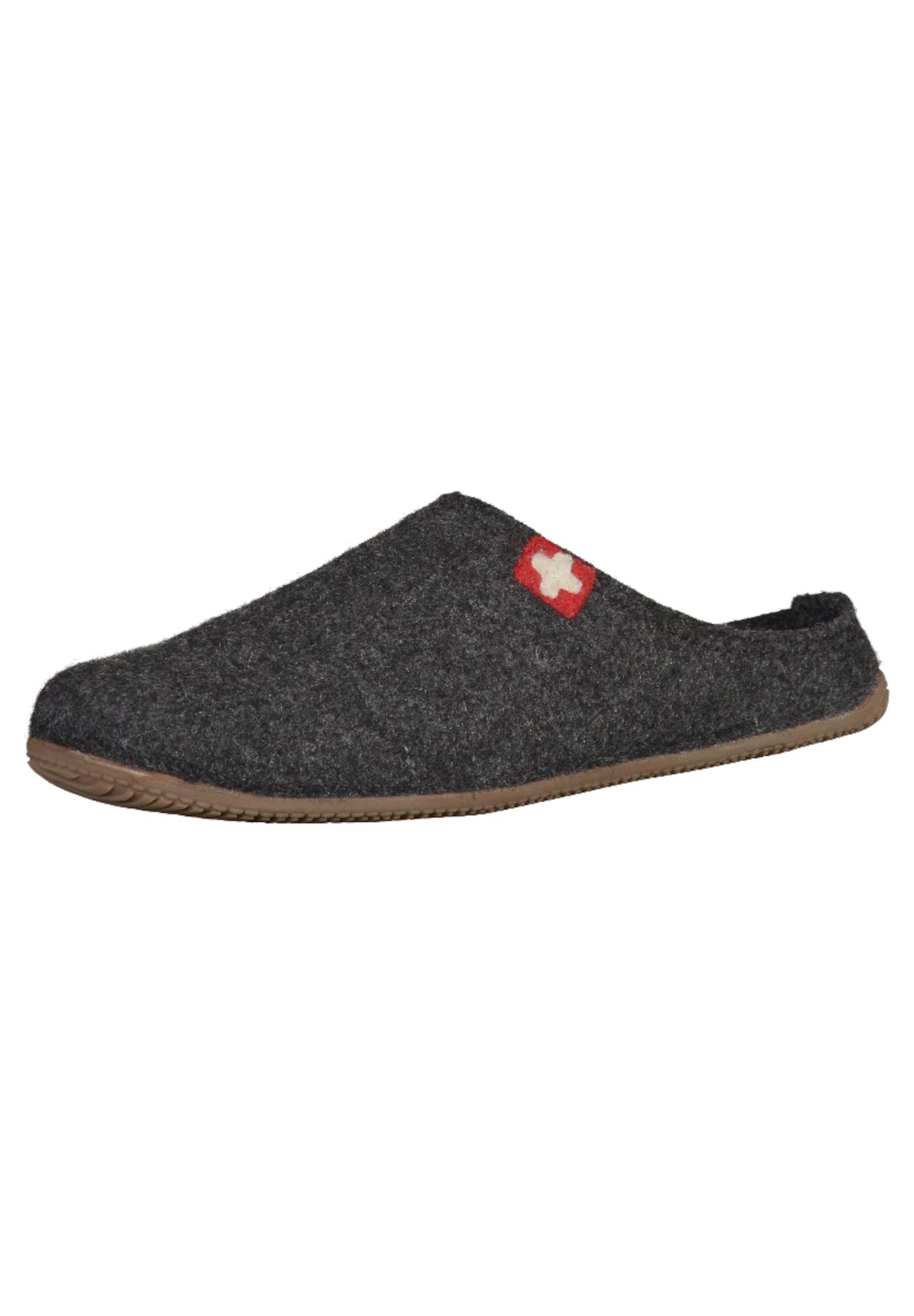 Pantofle čedičová šedá Living Kitzbühel