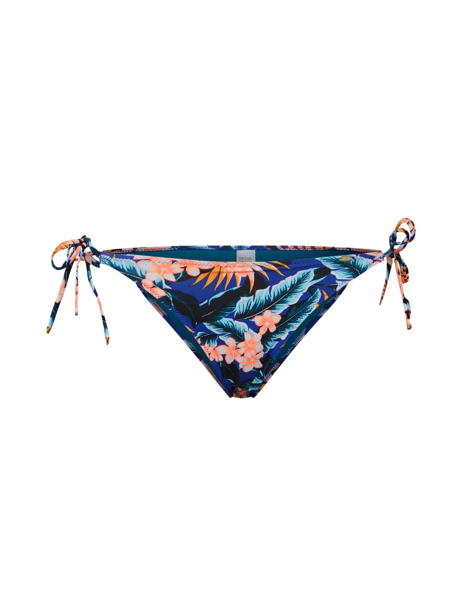 Spodní díl plavek Aloha modrá mix barev Skiny