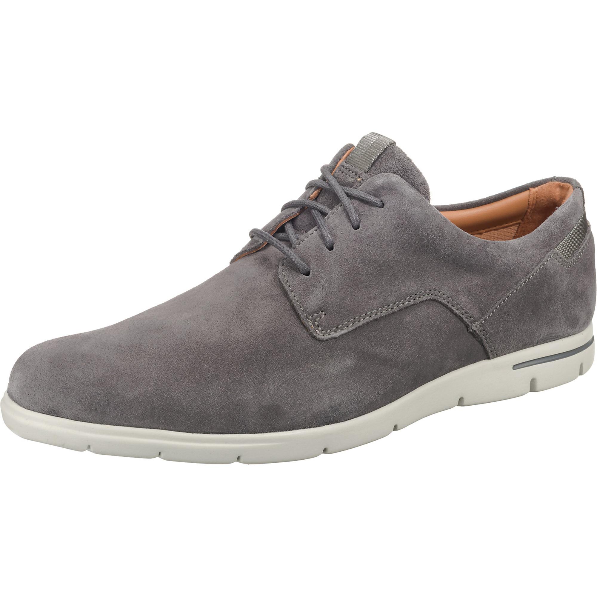 Šněrovací boty Vennor Walk šedá CLARKS