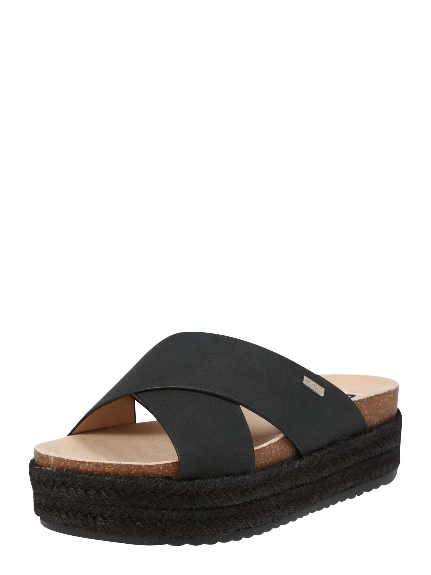 Páskové sandály PERLA černá MTNG