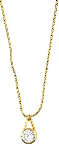 Halskette 'Gold Pearl Blossom'