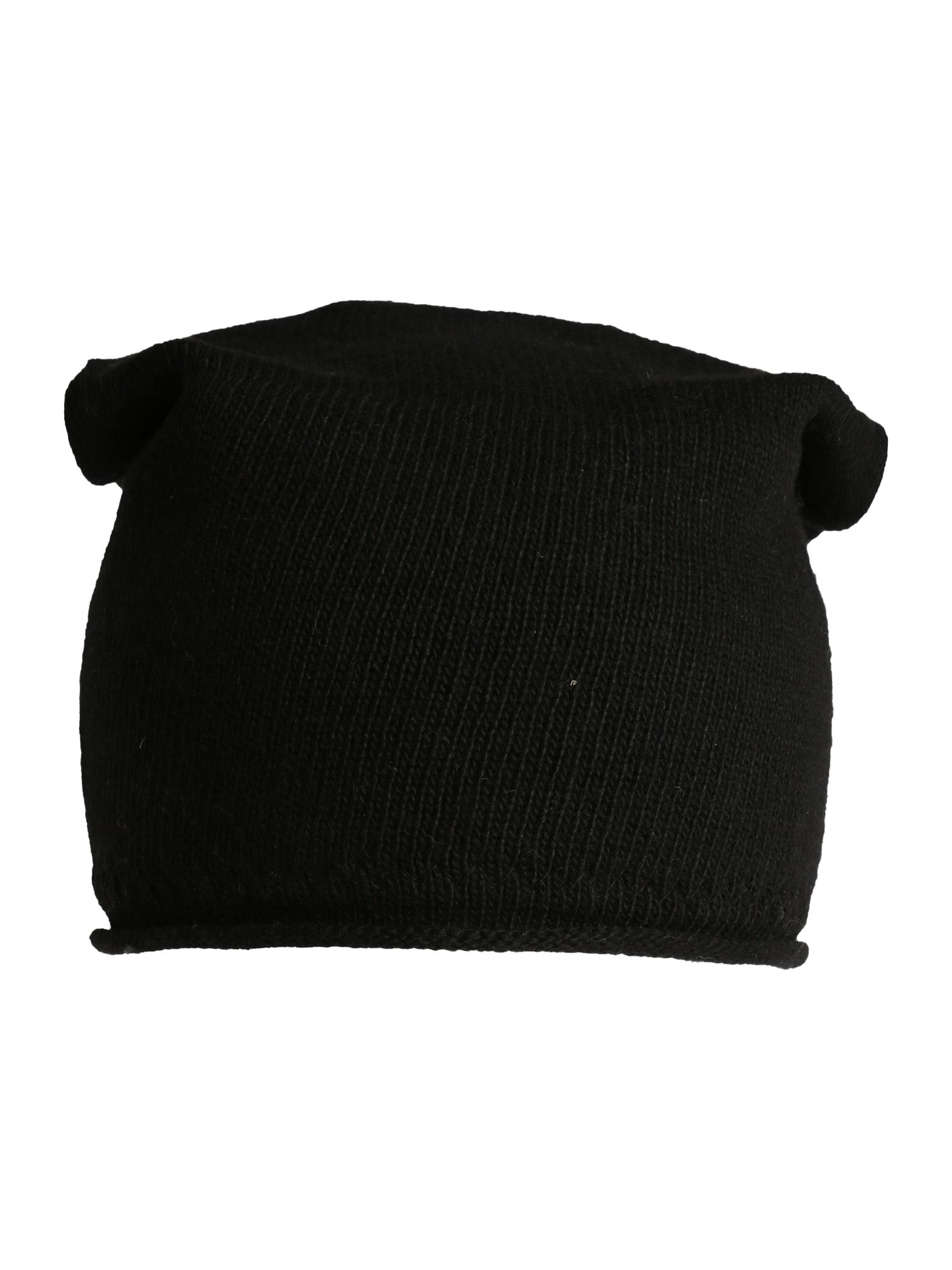 Čepice černá Zwillingsherz