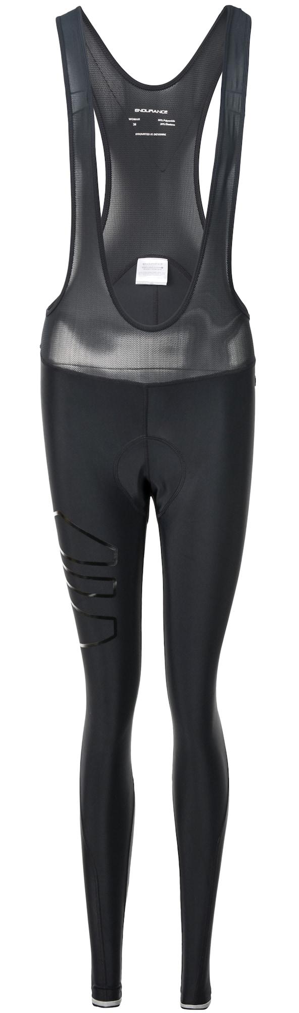 Radhose Jayne Long mit extra weichem Polster | Sportbekleidung > Sporthosen > Fahrradhosen | Schwarz | ENDURANCE