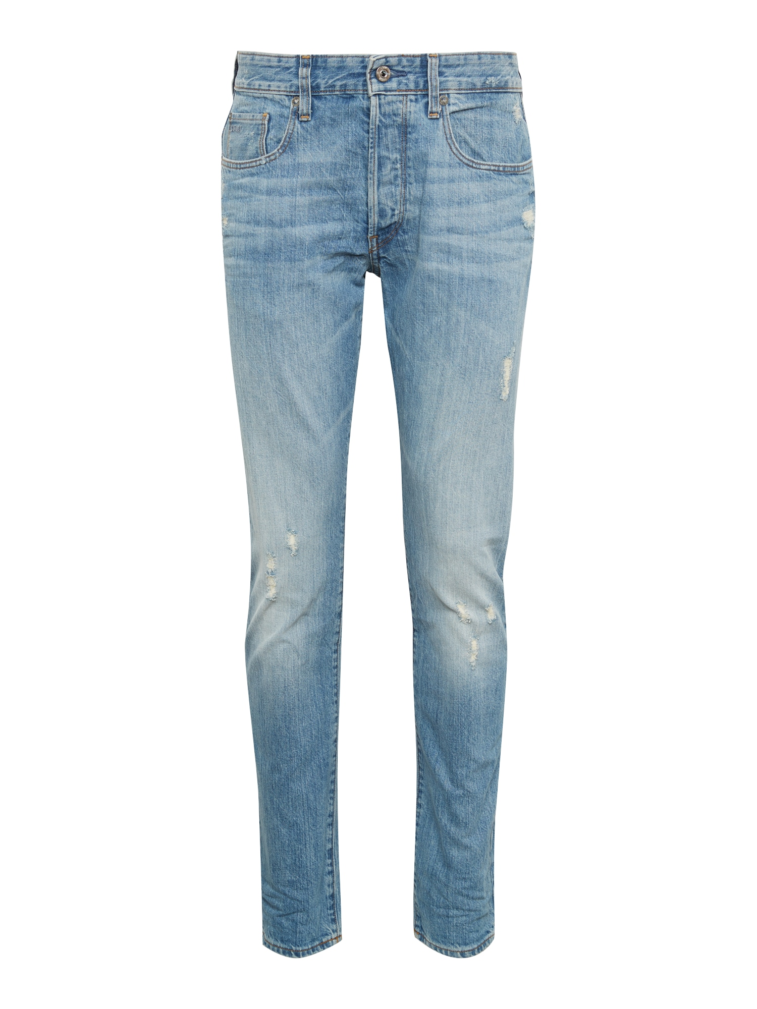 G-STAR RAW Heren Jeans 3301 Tapered blauw denim