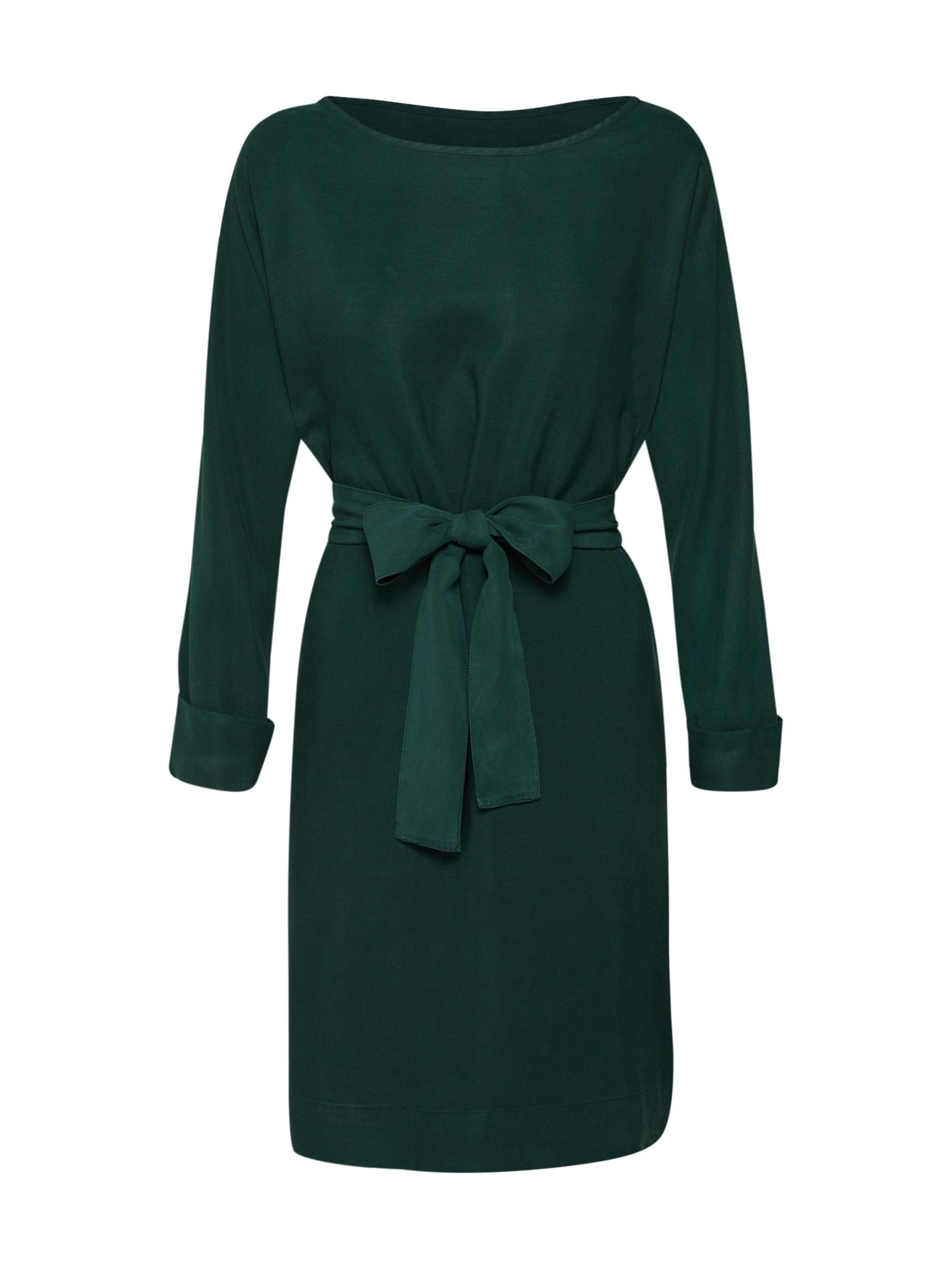 Šaty NALASTATE LS tmavě zelená AMERICAN VINTAGE