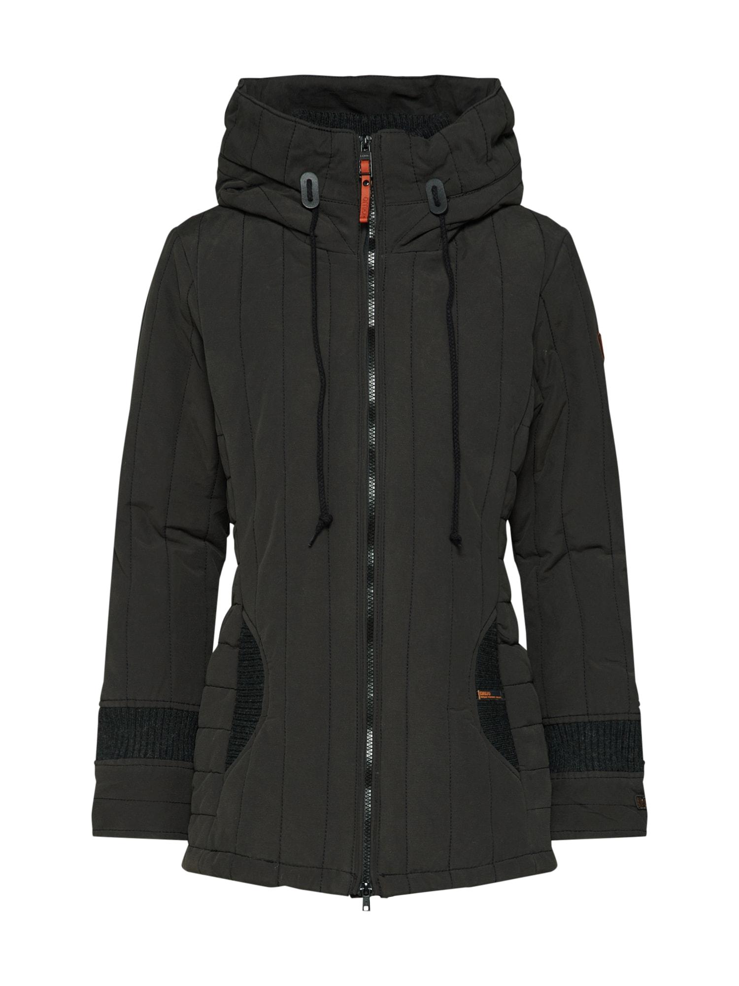Zimní bunda černá Khujo
