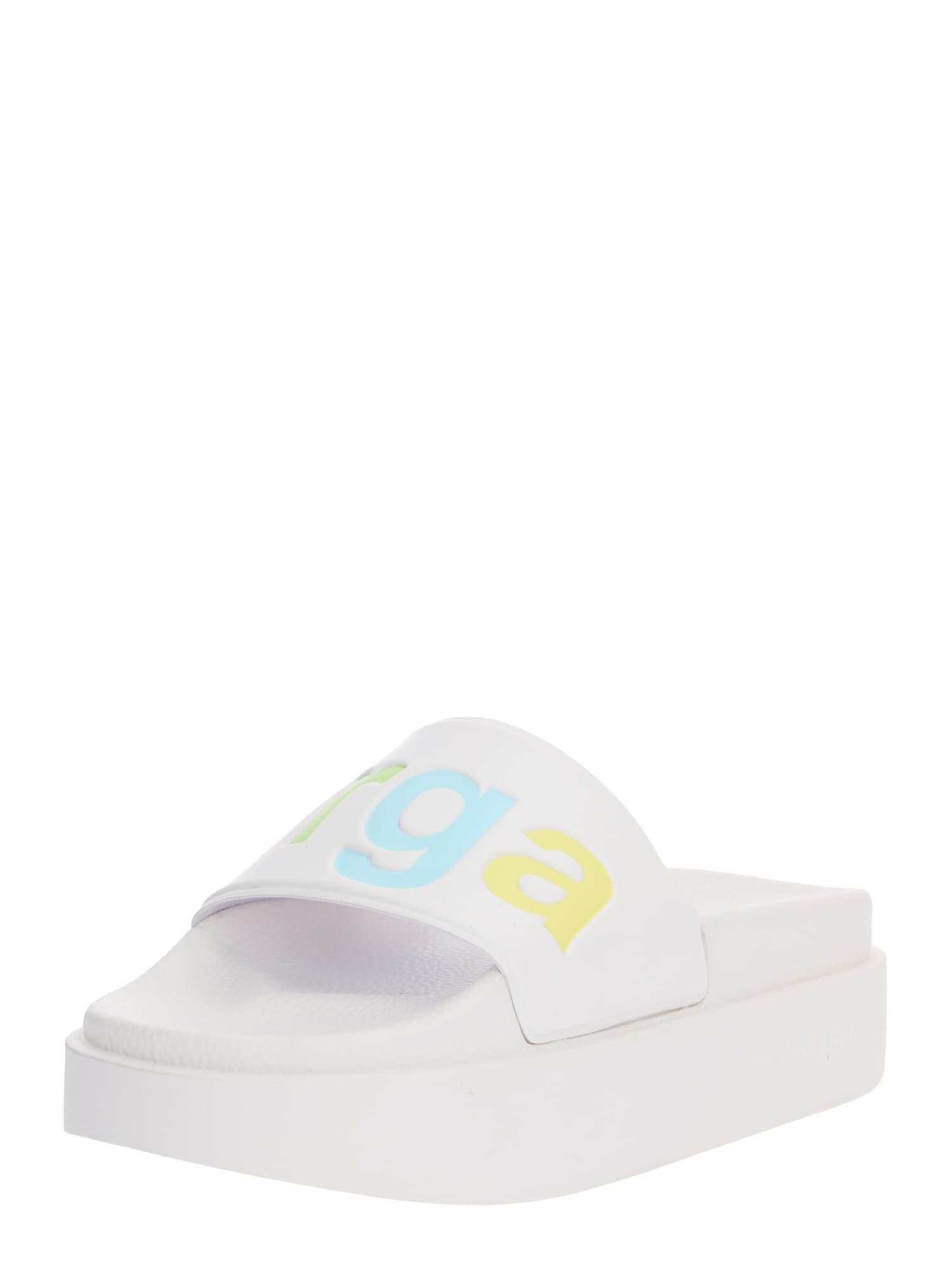 Pantofle 1919 - PUW mix barev bílá SUPERGA