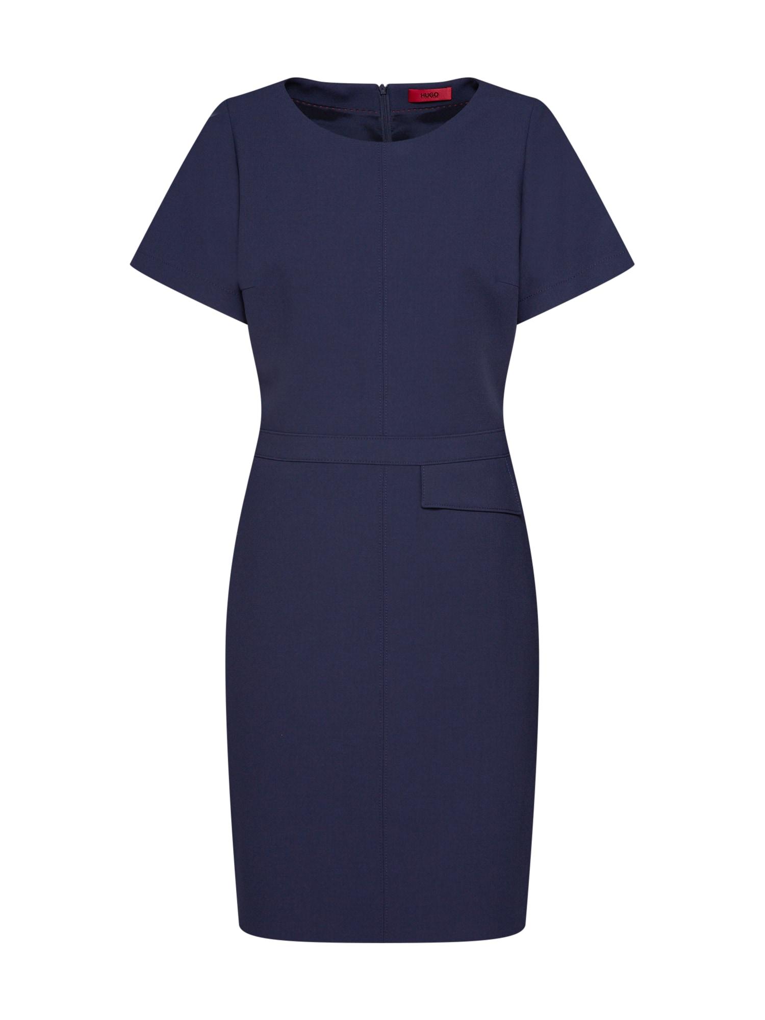 Šaty Katara modrá HUGO
