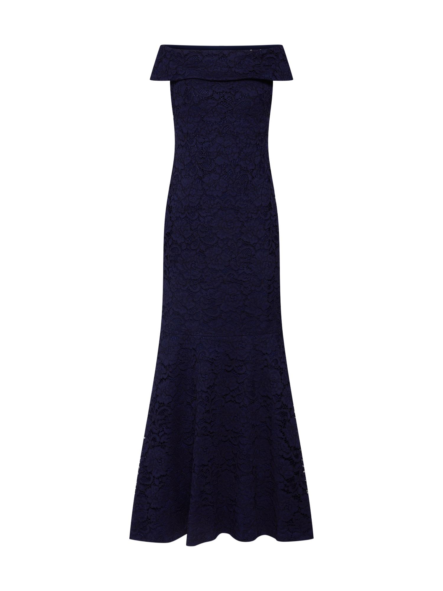 Šaty MELEE-EVENING DRESS námořnická modř Lauren Ralph Lauren