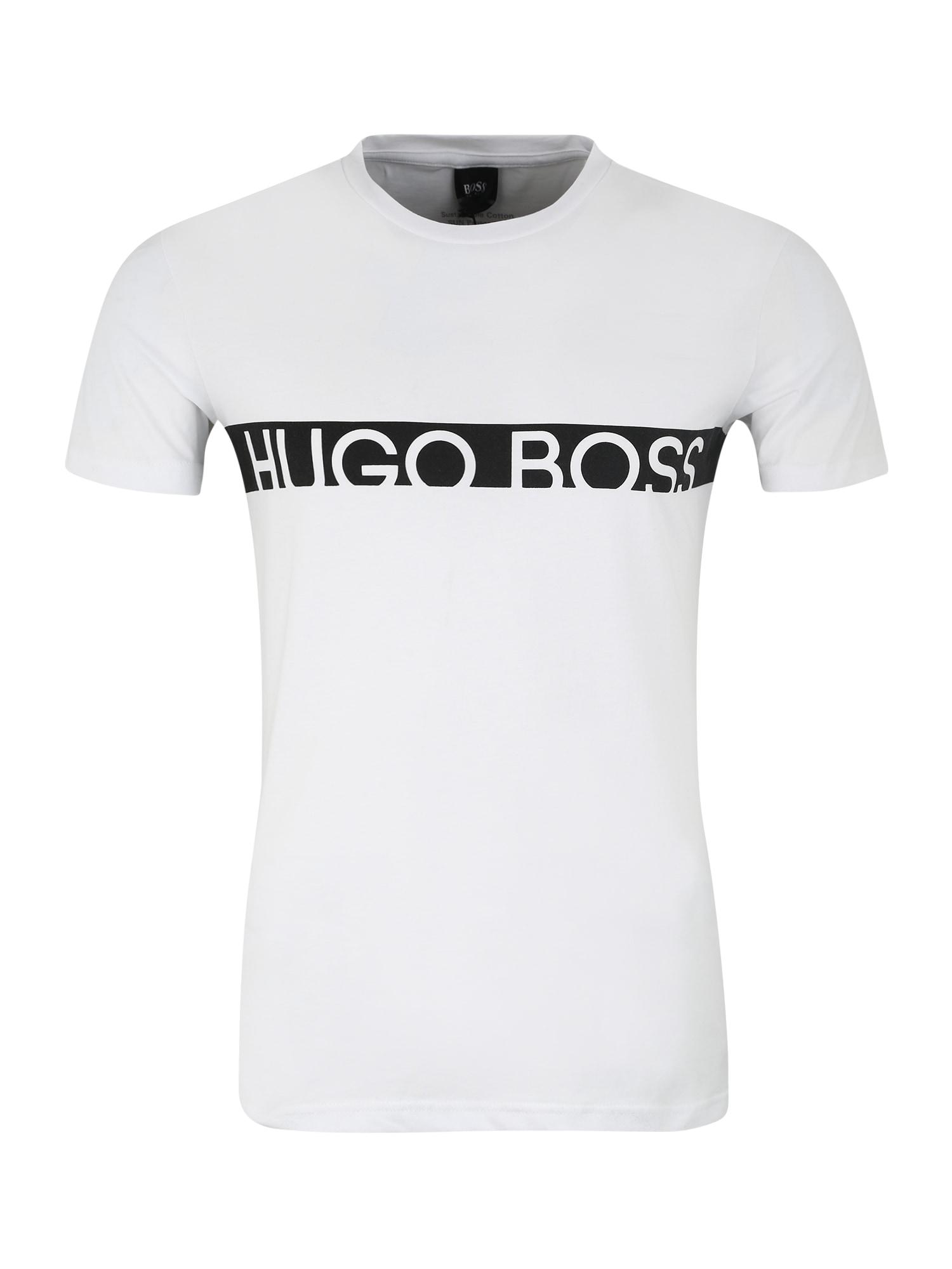 Tílko T-Shirt RN 10217081 černá bílá BOSS