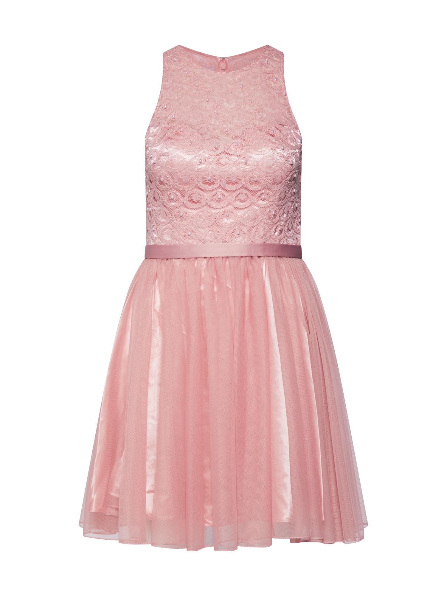 Koktejlové šaty růžová Laona