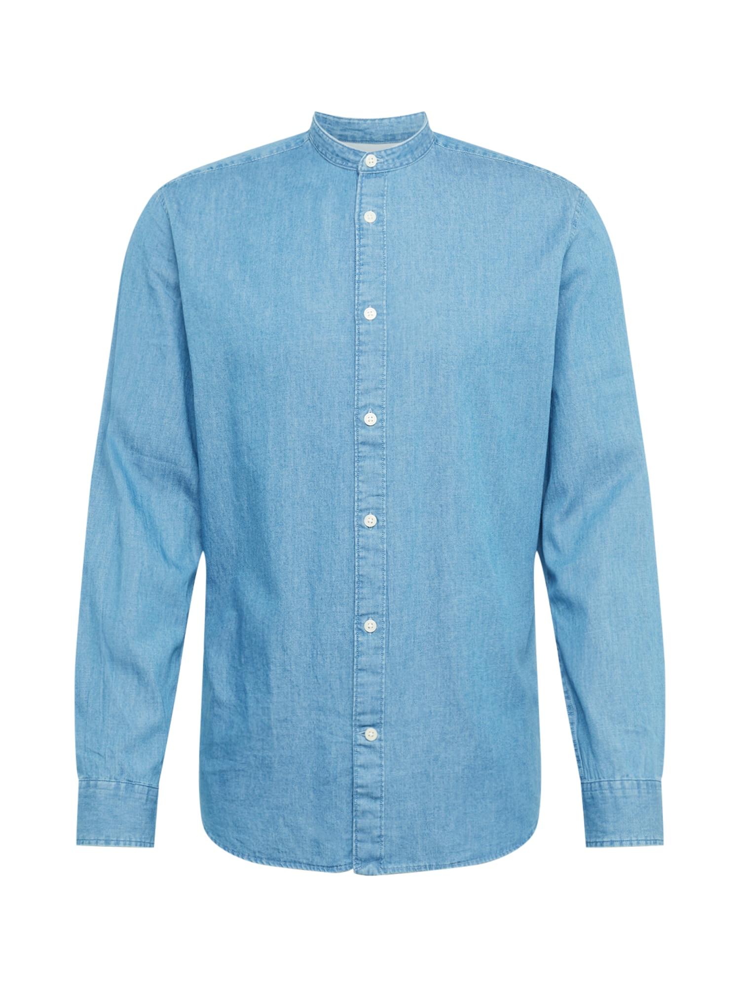 Košile modrá džínovina SELECTED HOMME