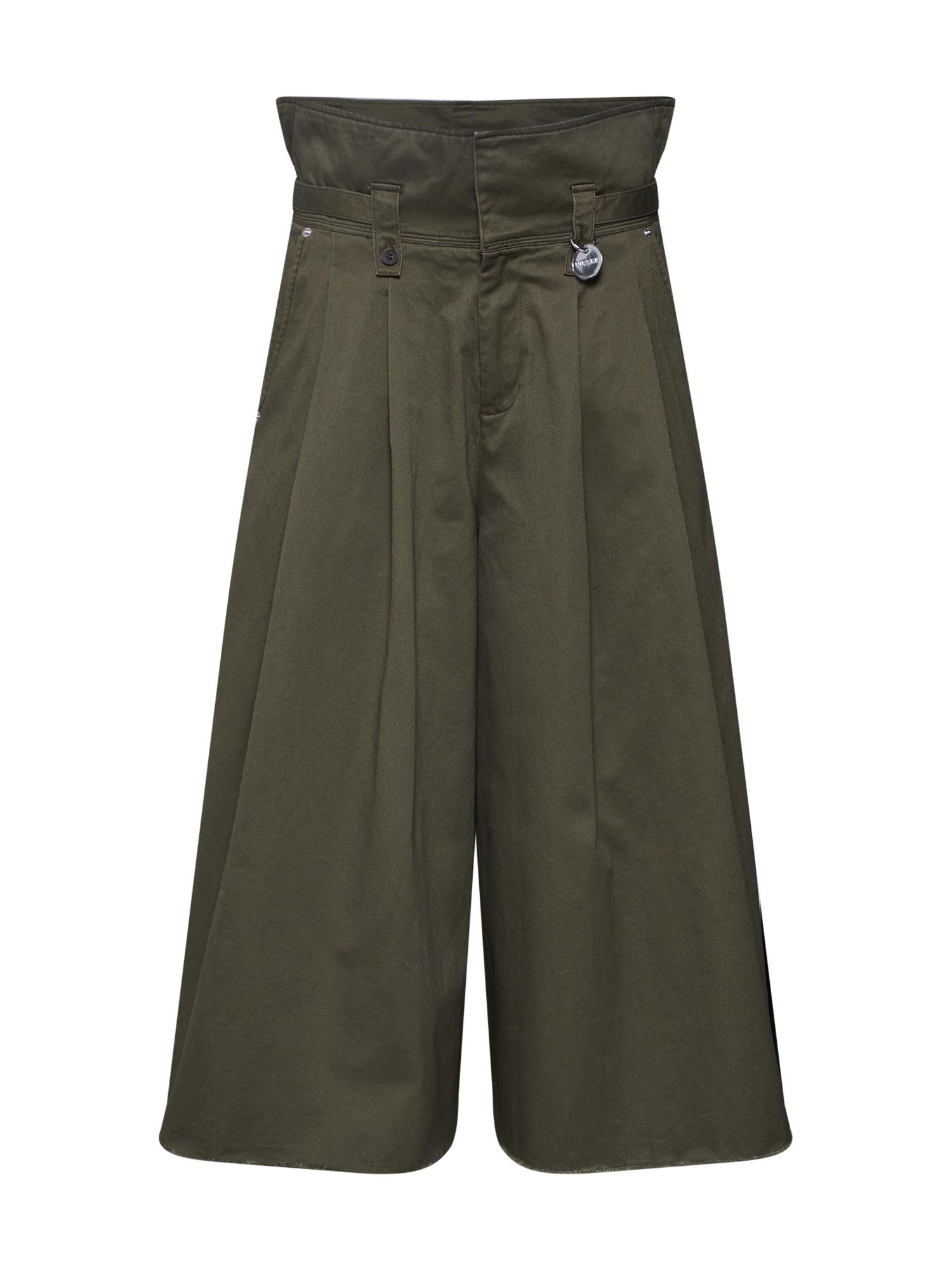 Kalhoty se sklady v pase P-PAYTON olivová DIESEL