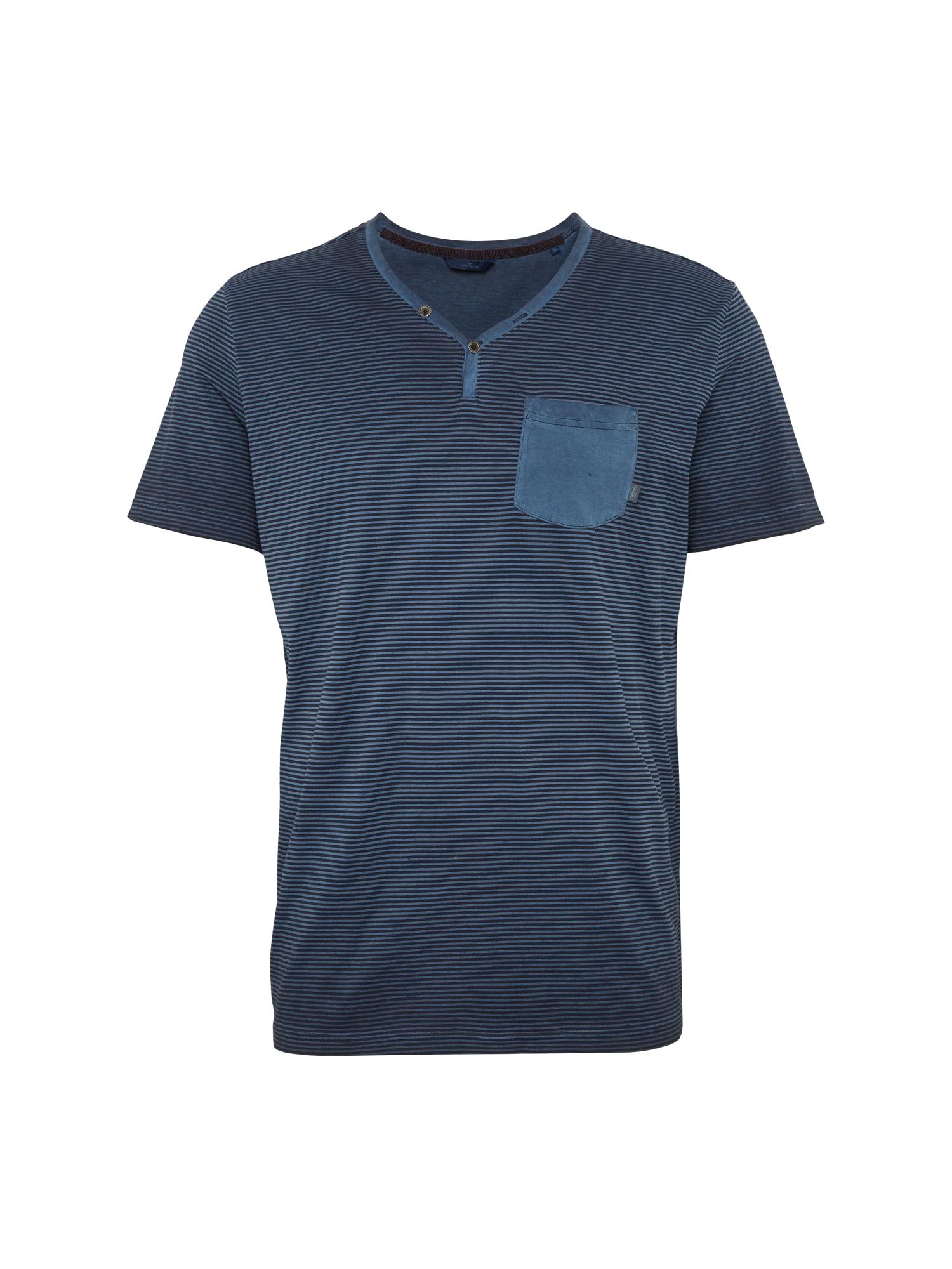 Shirt 'Striped serafino with w'