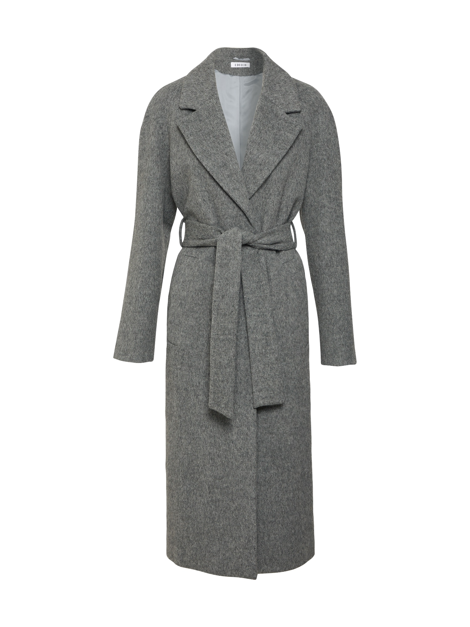 Zimní kabát Cecilia šedá EDITED