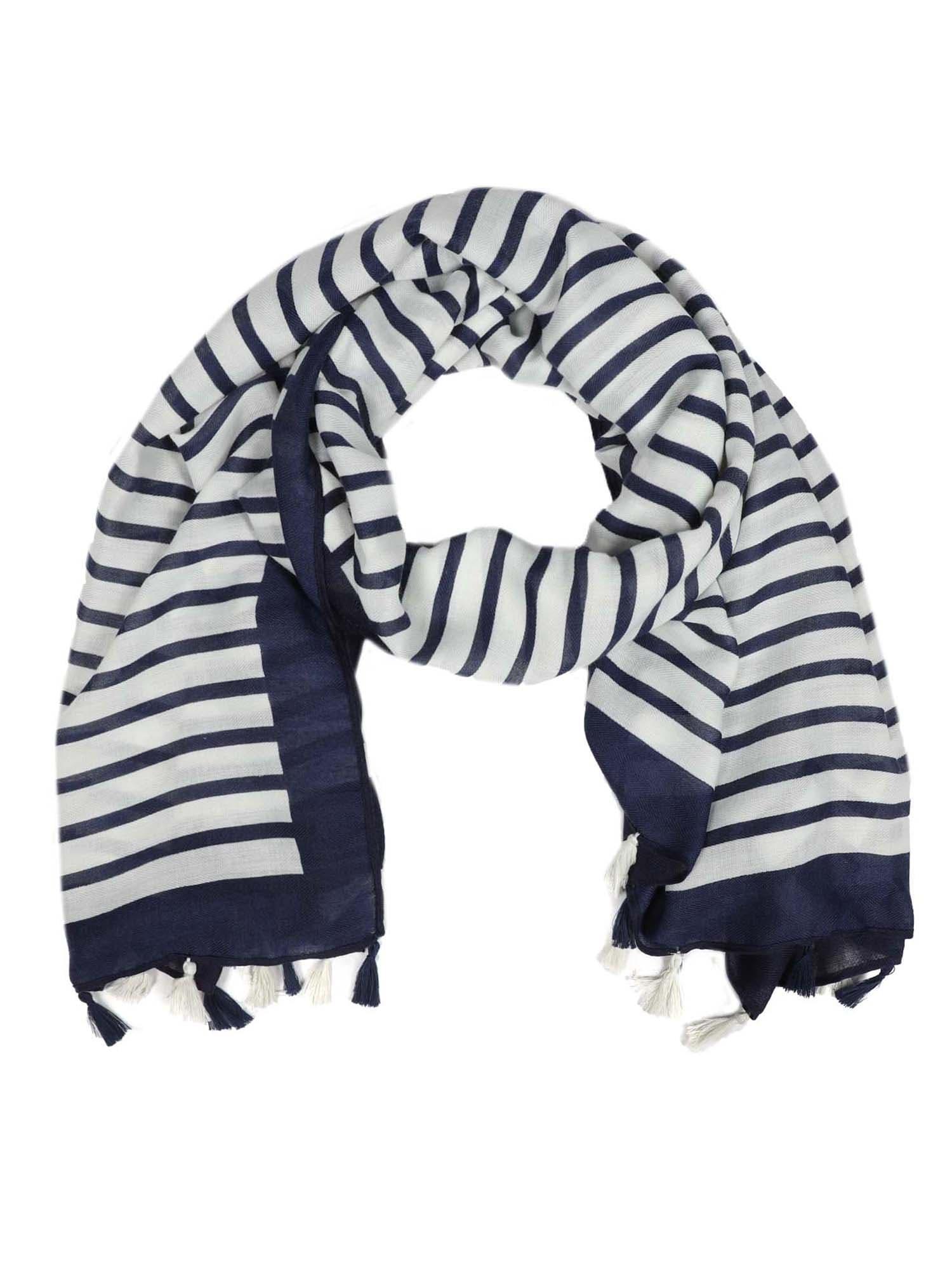 Šátek modrá bílá Zwillingsherz