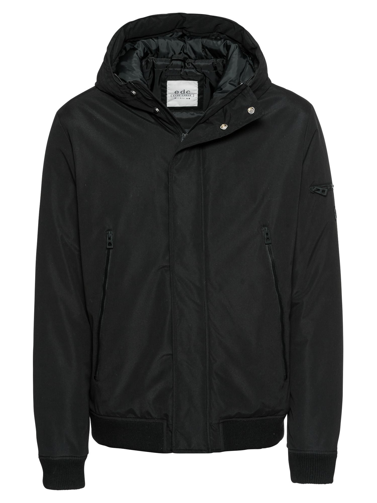 Zimní bunda Winter SchoolBx černá EDC BY ESPRIT