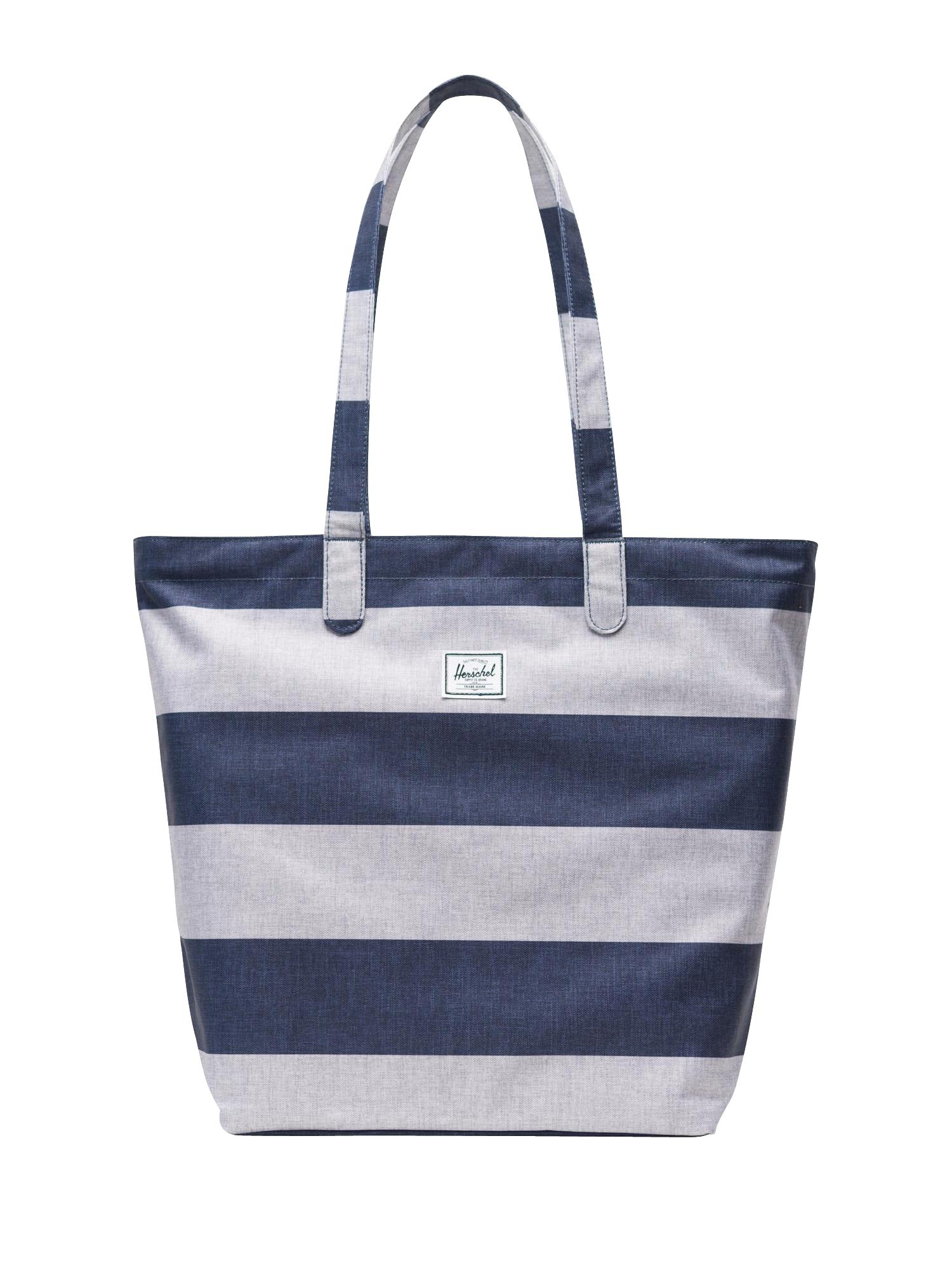 Nákupní taška Mica modrá offwhite Herschel