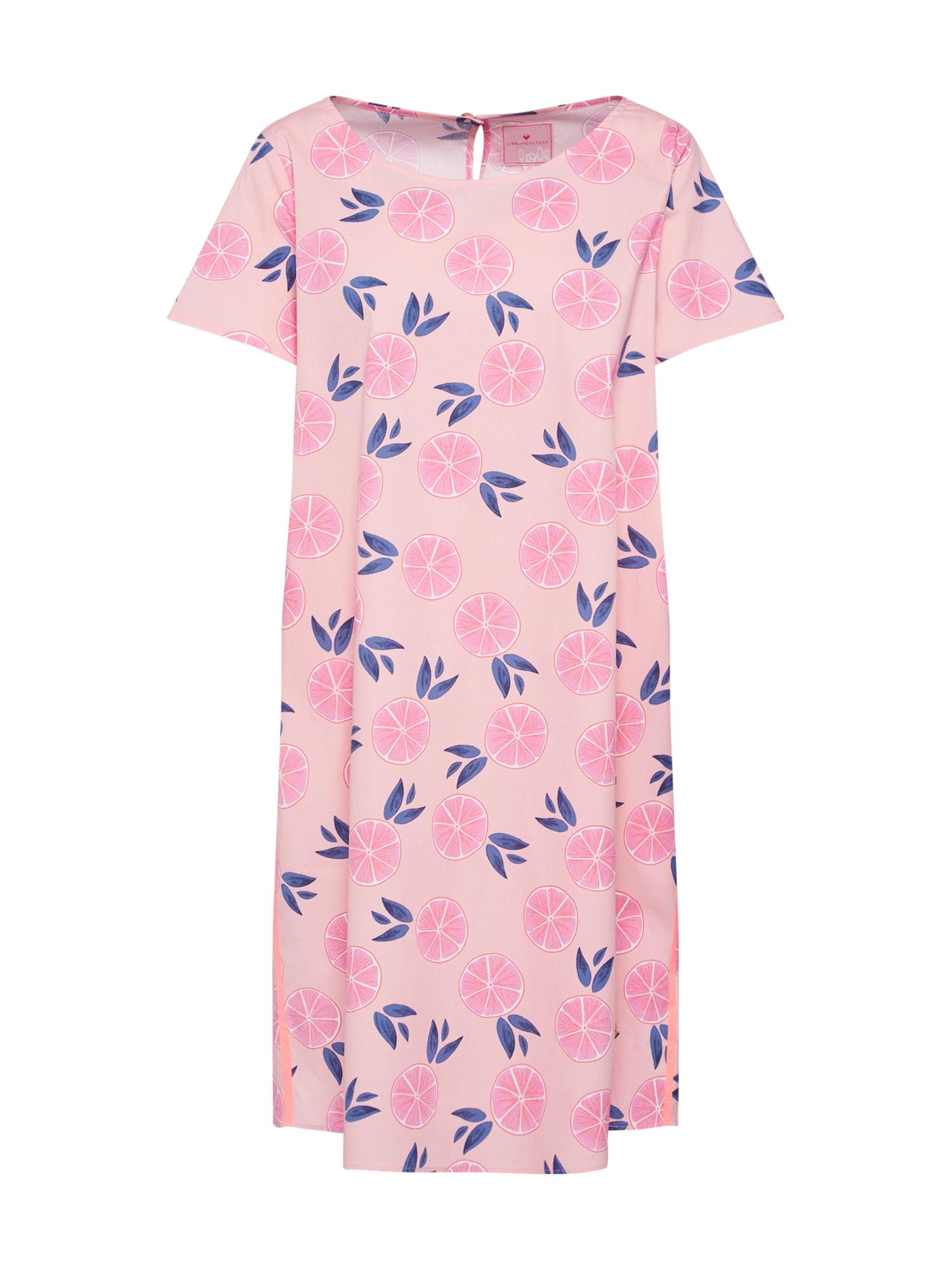 Šaty Elna mix barev pink LIEBLINGSSTÜCK