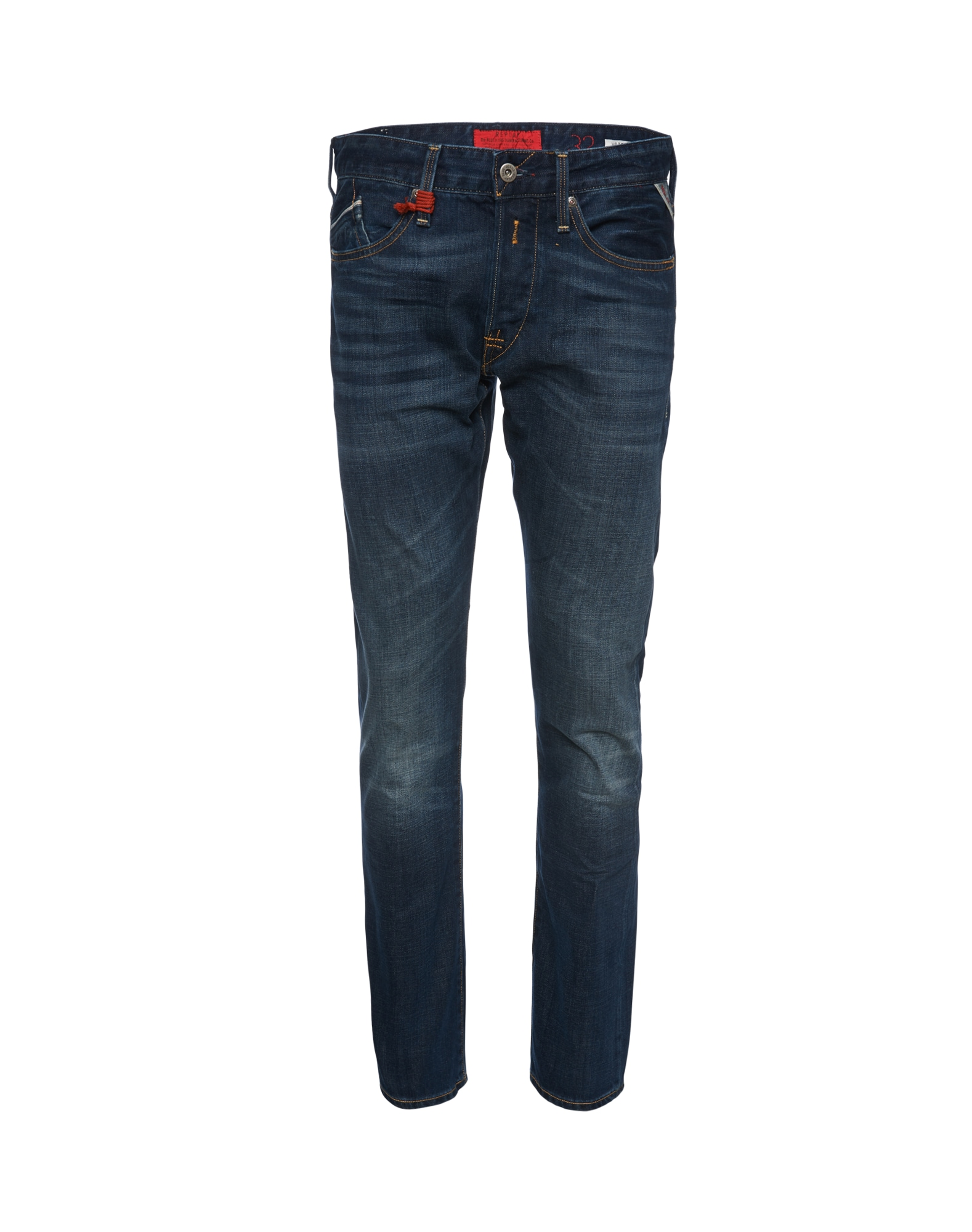 REPLAY Heren Jeans Waitom blauw