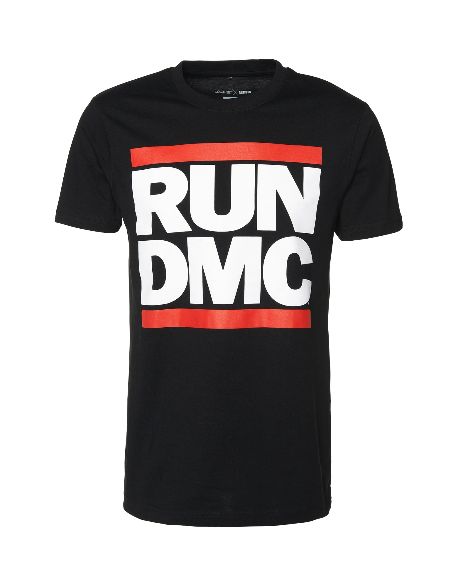 Mister Tee Tričko 'Run DMC'  červená / černá / bílá