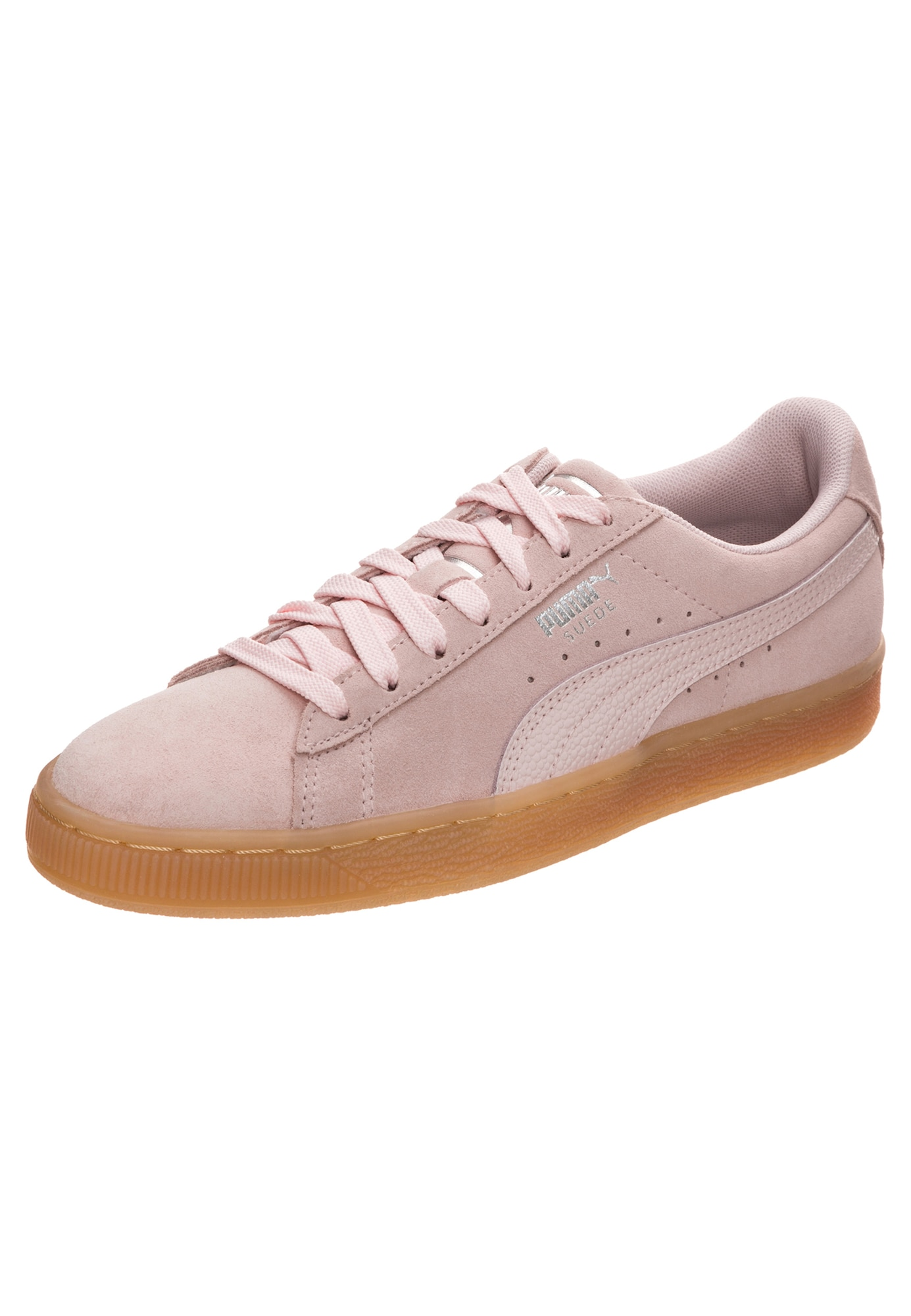PUMA, Dames Sneakers laag 'Suede Classic Bubble', rosa