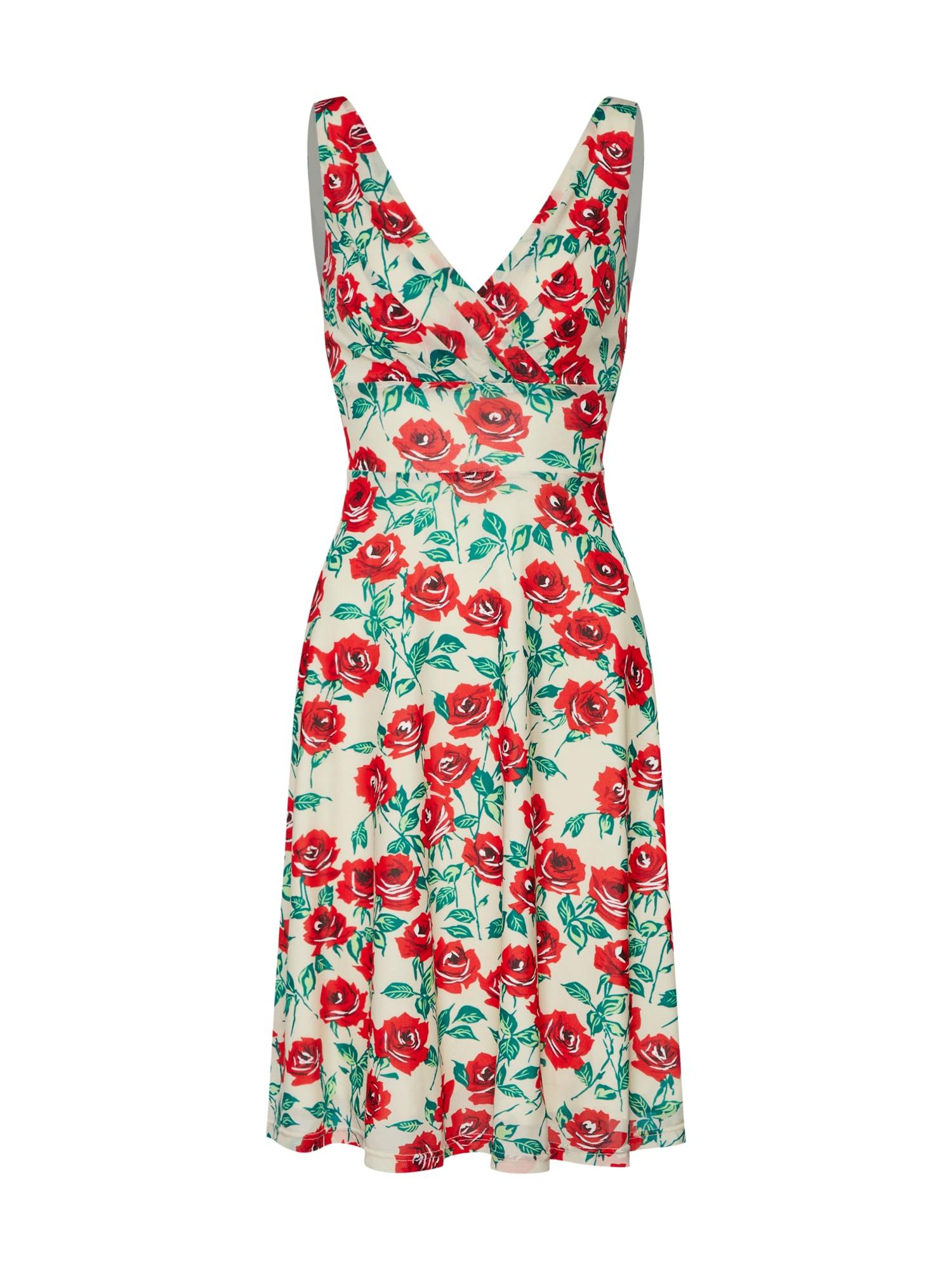 Letní šaty Ginger Wide Dress Blush béžová světle červená King Louie