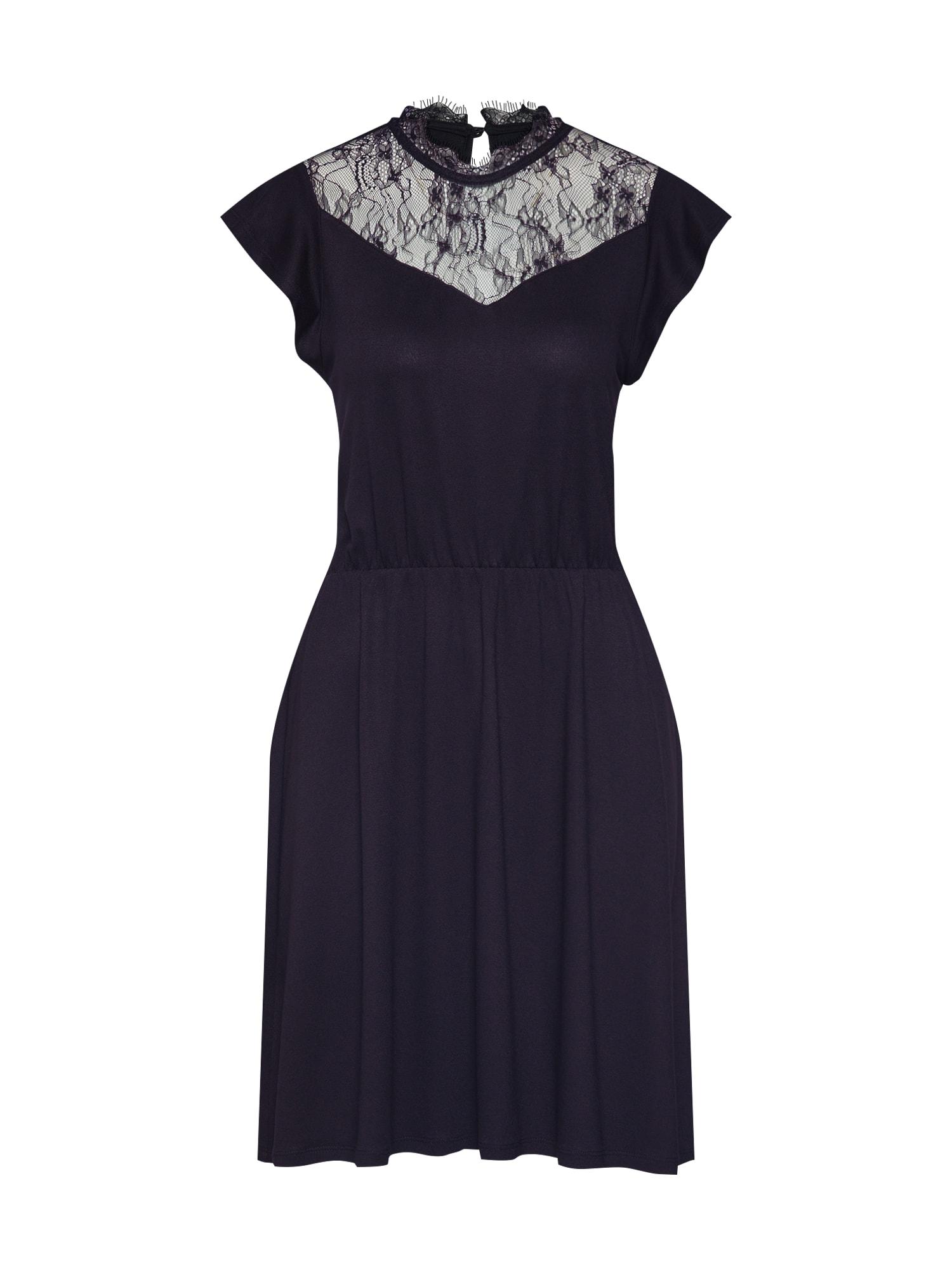 Šaty ONLAMILA CAP SLEEVE DRESS JRS černá ONLY