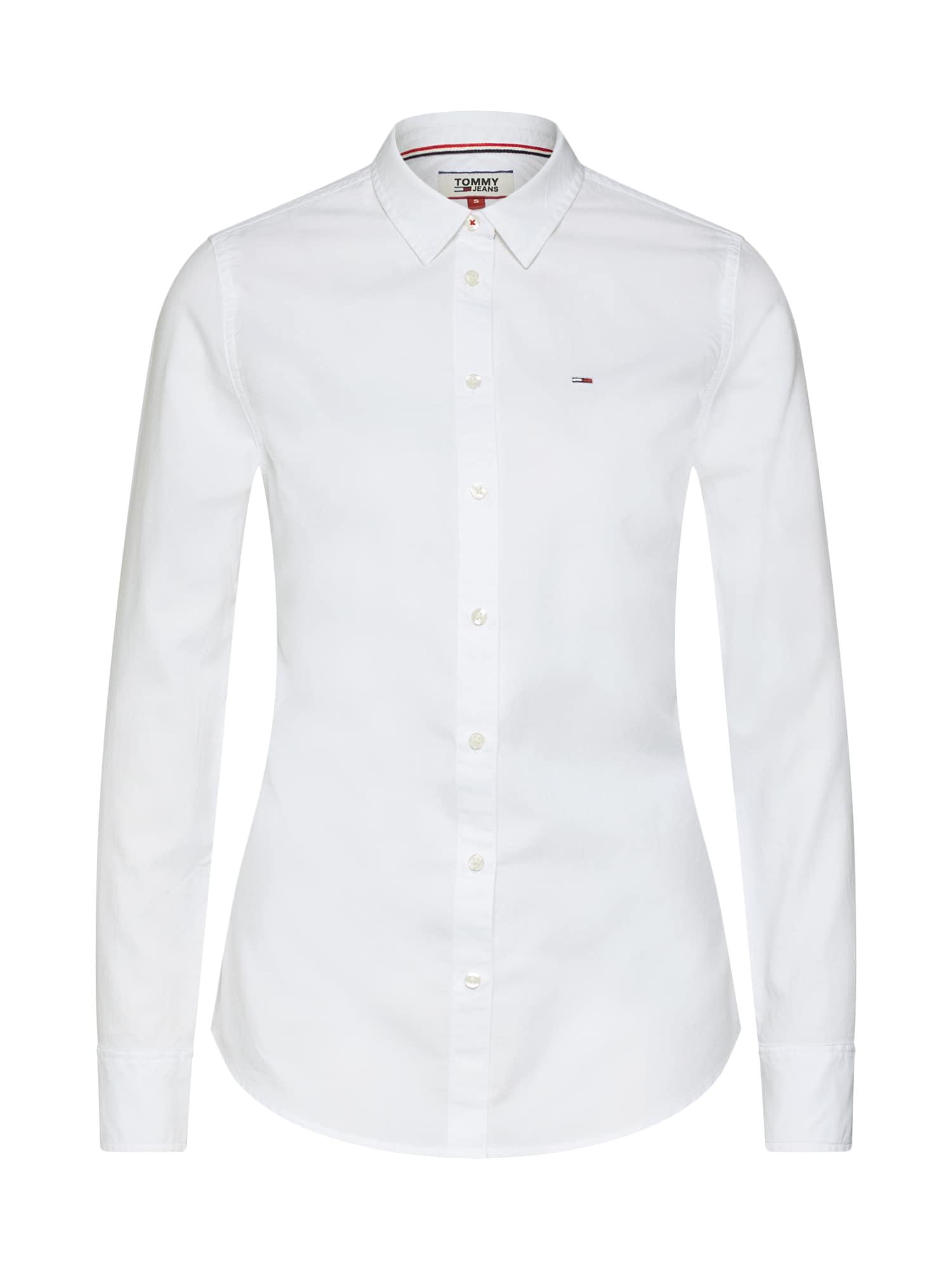 Bluse | Bekleidung > Blusen > Sonstige Blusen | Weiß | Tommy Jeans